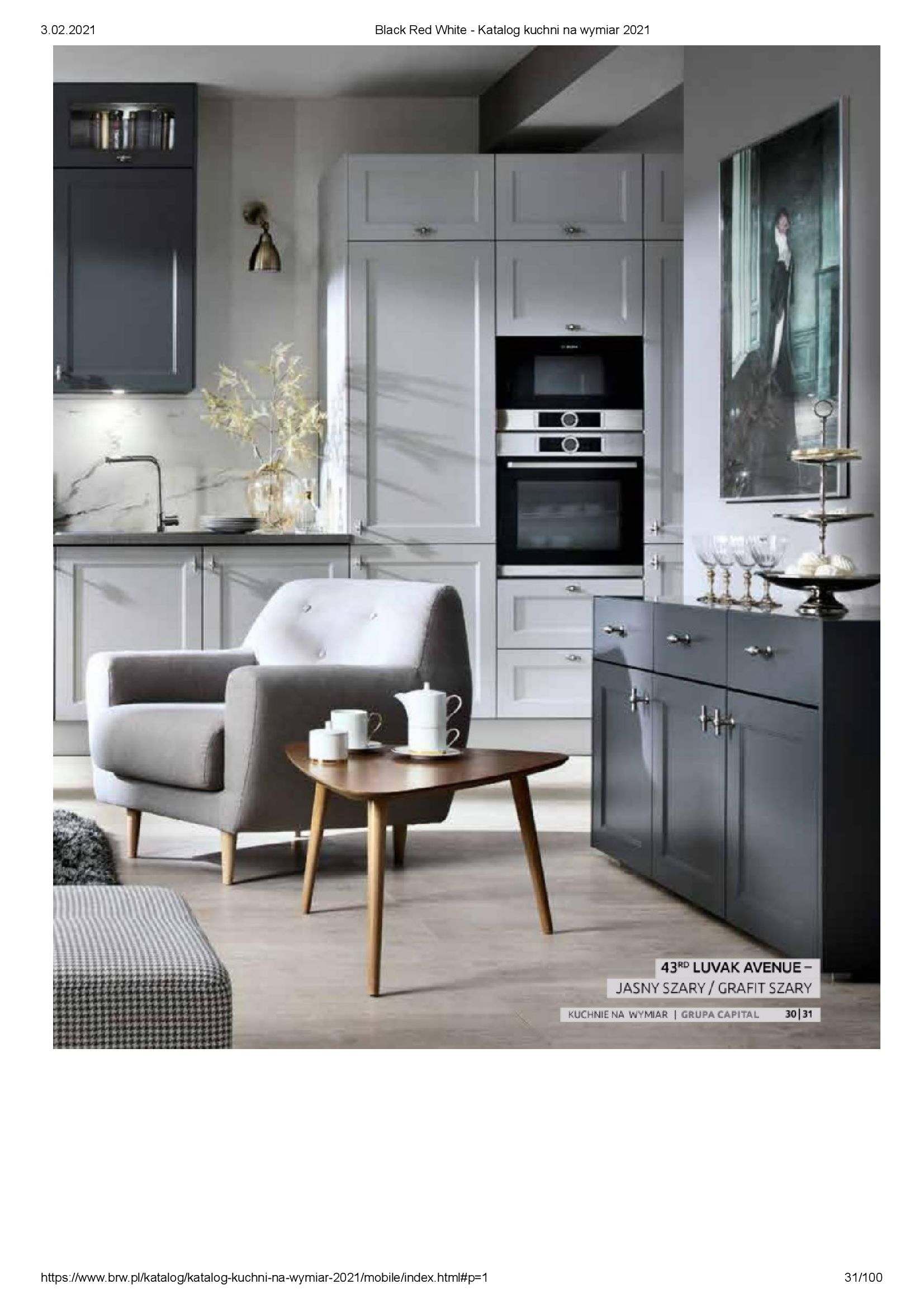 Gazetka Black Red White: Katalog - Kuchnie na wymiar Senso Kitchens 2021 2021-01-01 page-31