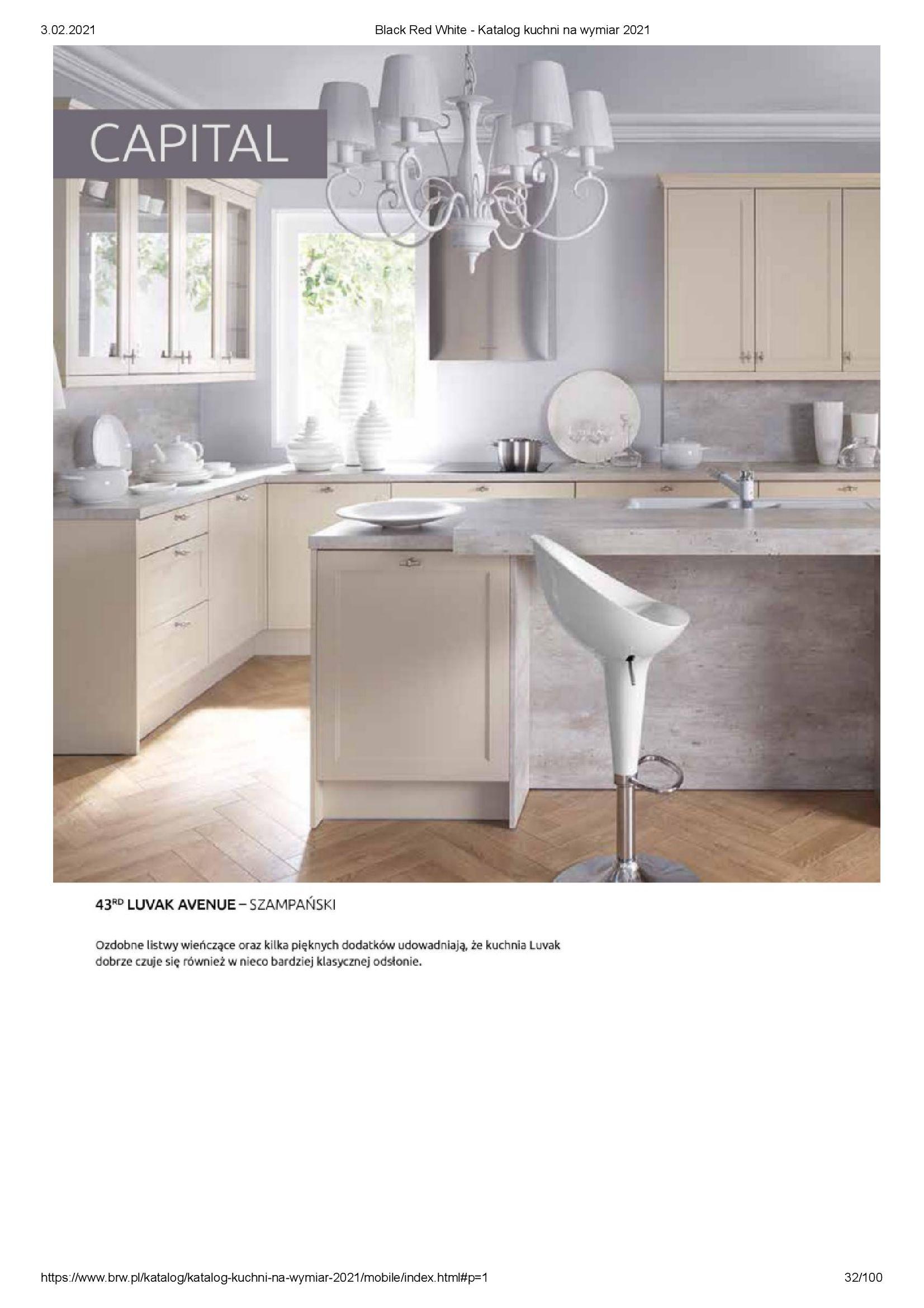 Gazetka Black Red White: Katalog - Kuchnie na wymiar Senso Kitchens 2021 2021-01-01 page-32