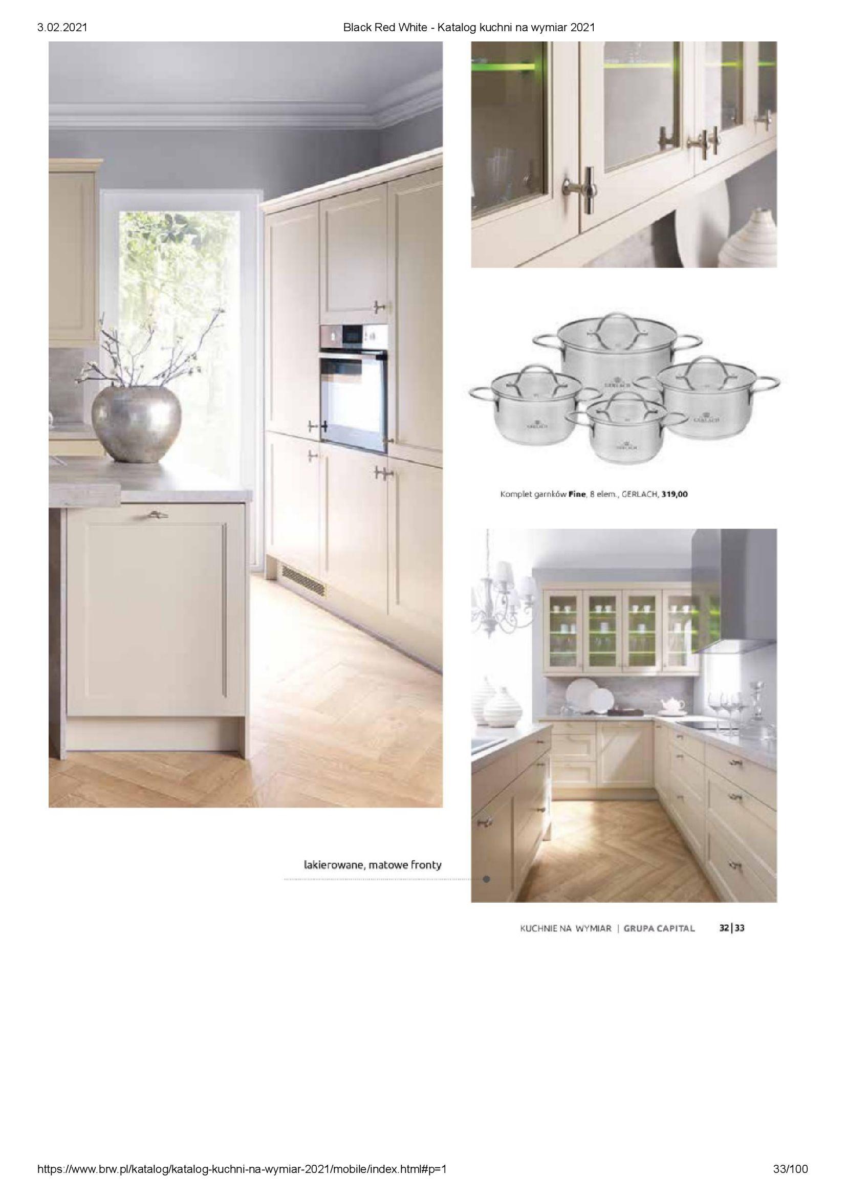 Gazetka Black Red White: Katalog - Kuchnie na wymiar Senso Kitchens 2021 2021-01-01 page-33