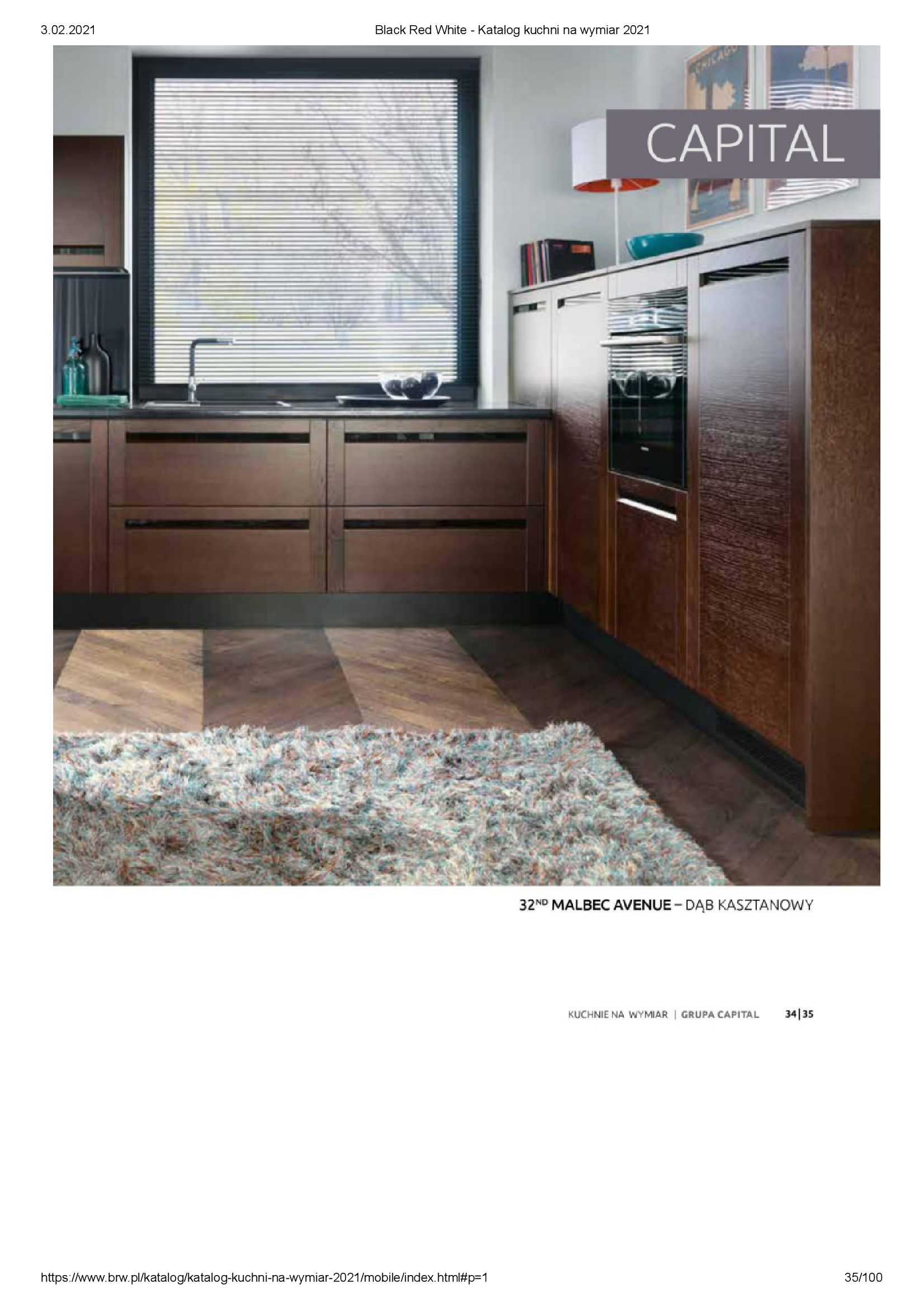 Gazetka Black Red White: Katalog - Kuchnie na wymiar Senso Kitchens 2021 2021-01-01 page-35