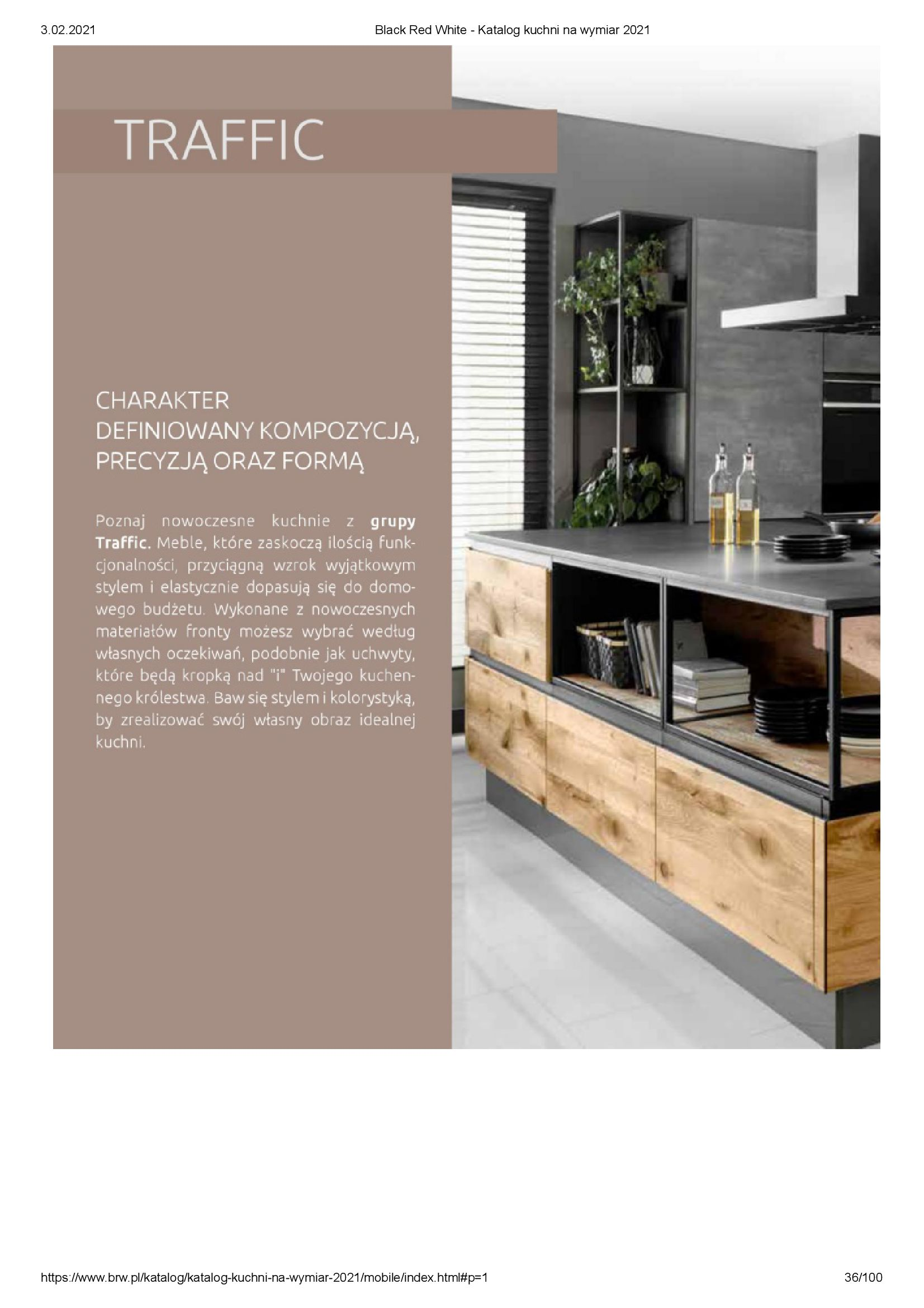 Gazetka Black Red White: Katalog - Kuchnie na wymiar Senso Kitchens 2021 2021-01-01 page-36