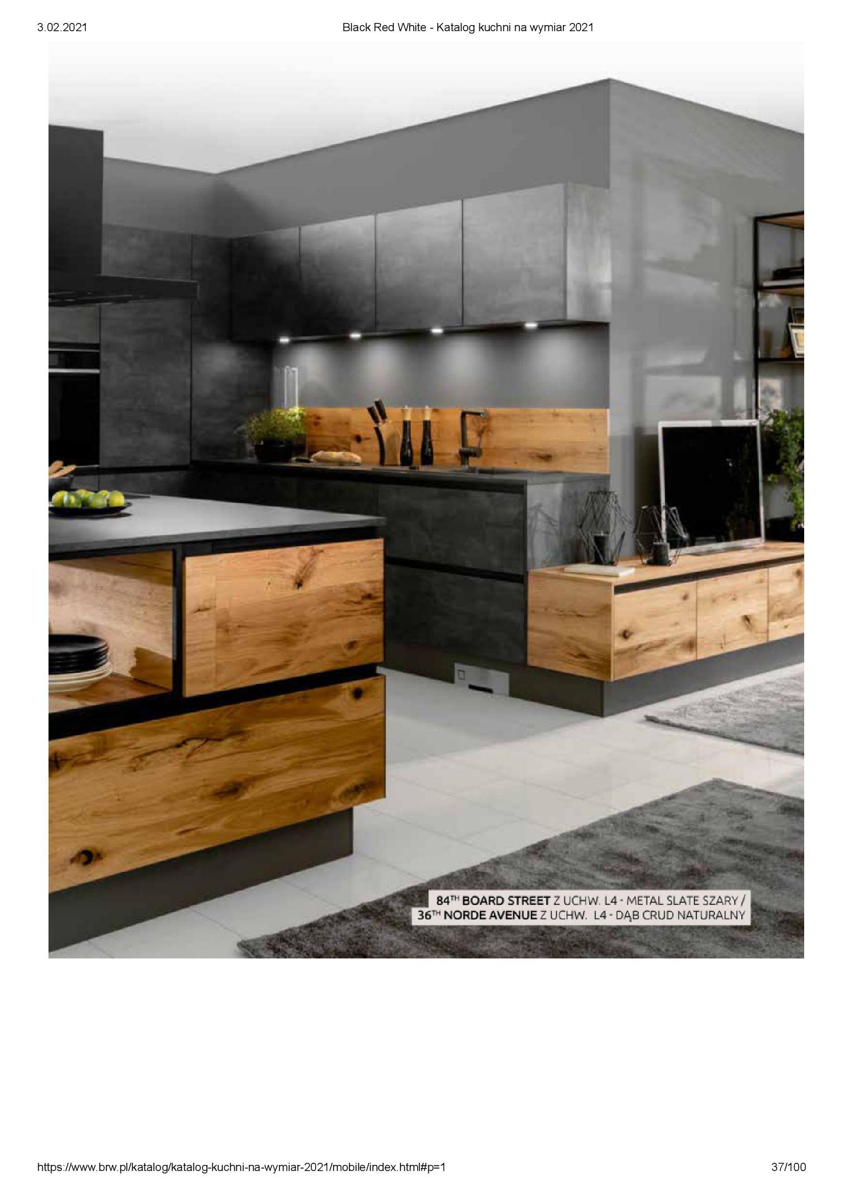 Gazetka Black Red White: Katalog - Kuchnie na wymiar Senso Kitchens 2021 2021-01-01 page-37