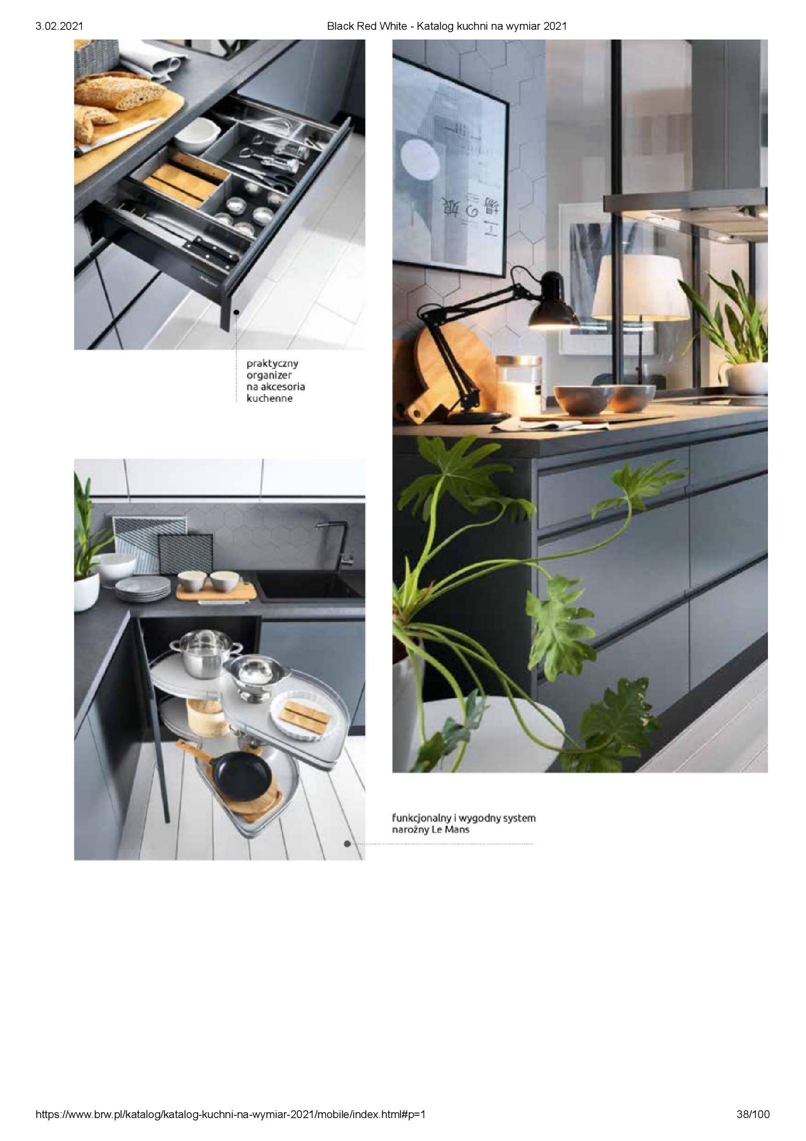 Gazetka Black Red White: Katalog - Kuchnie na wymiar Senso Kitchens 2021 2021-01-01 page-38
