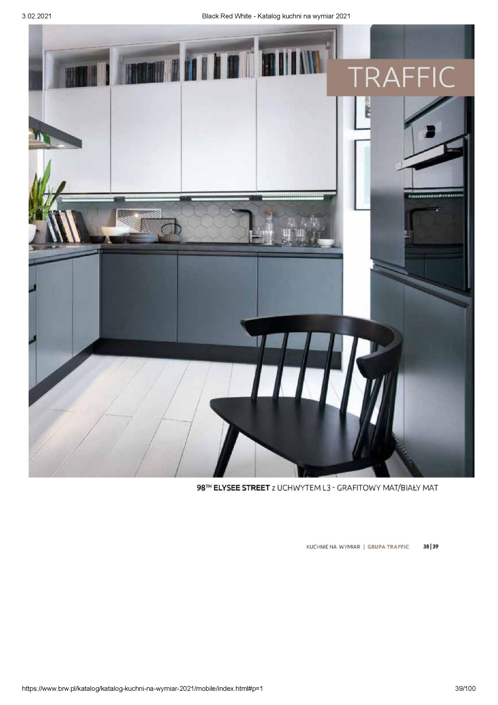Gazetka Black Red White: Katalog - Kuchnie na wymiar Senso Kitchens 2021 2021-01-01 page-39