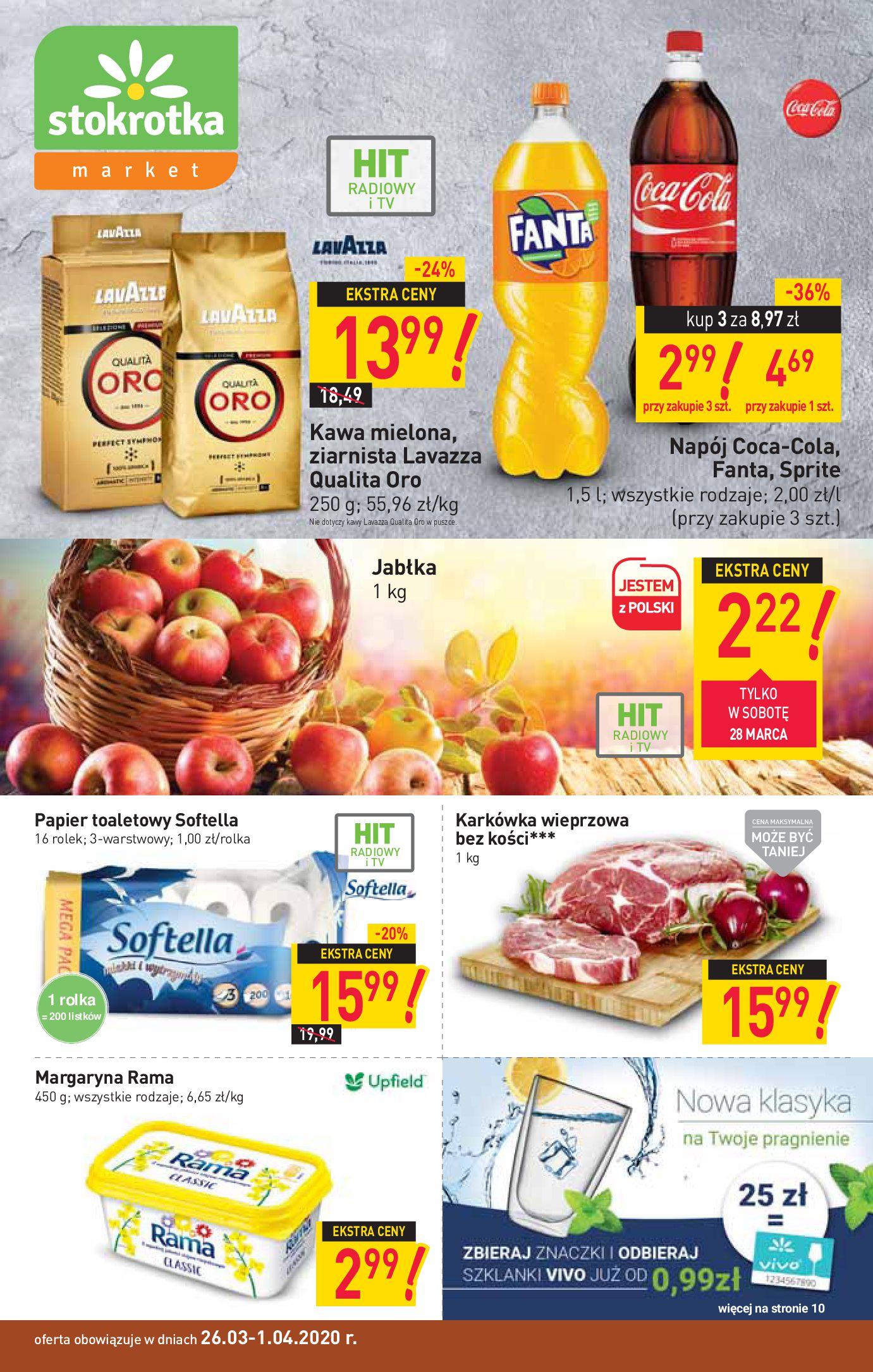 Gazetka Stokrotka Market - Oferta handlowa-25.03.2020-01.04.2020-page-1