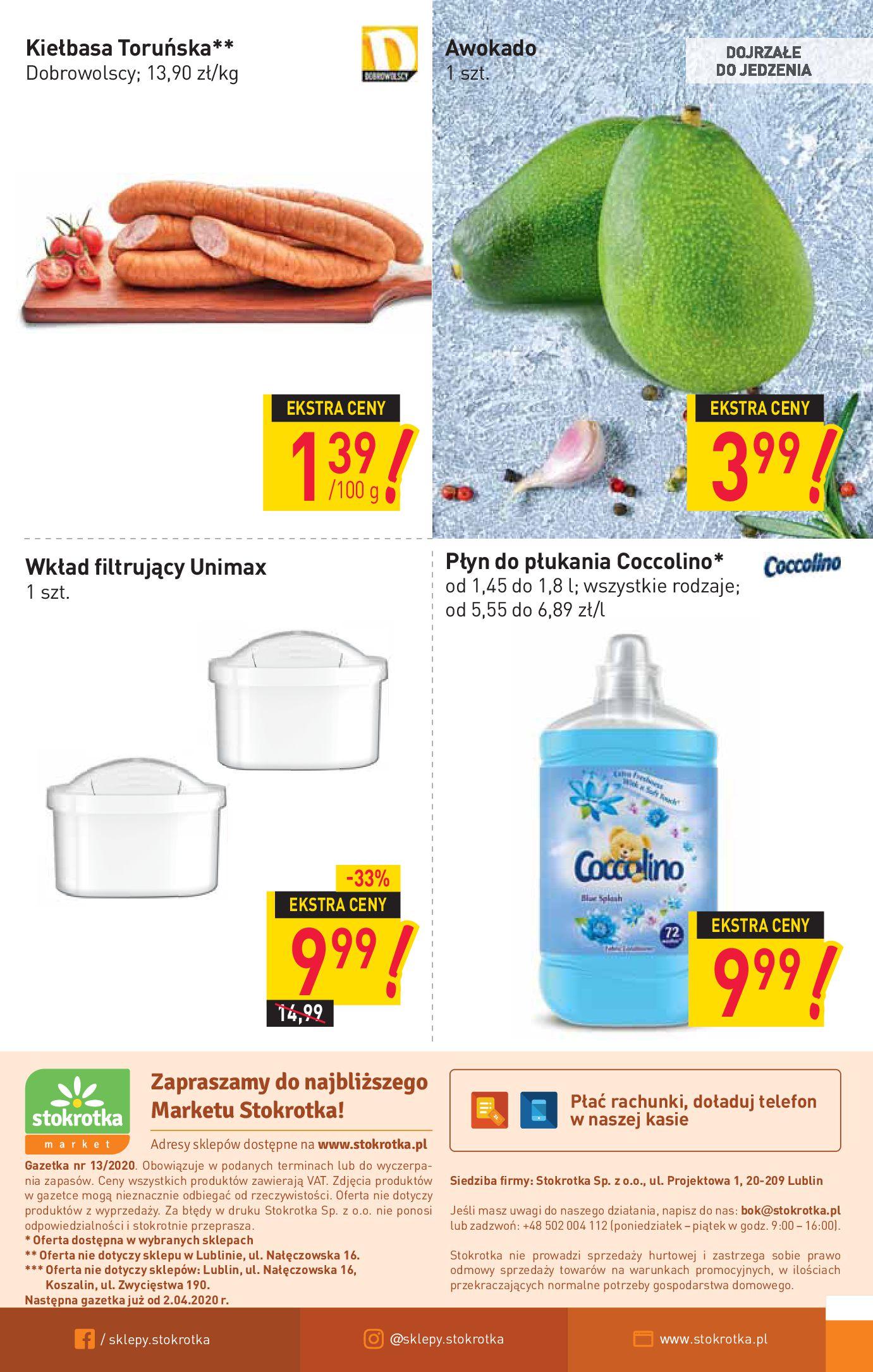 Gazetka Stokrotka Market - Oferta handlowa-25.03.2020-01.04.2020-page-12