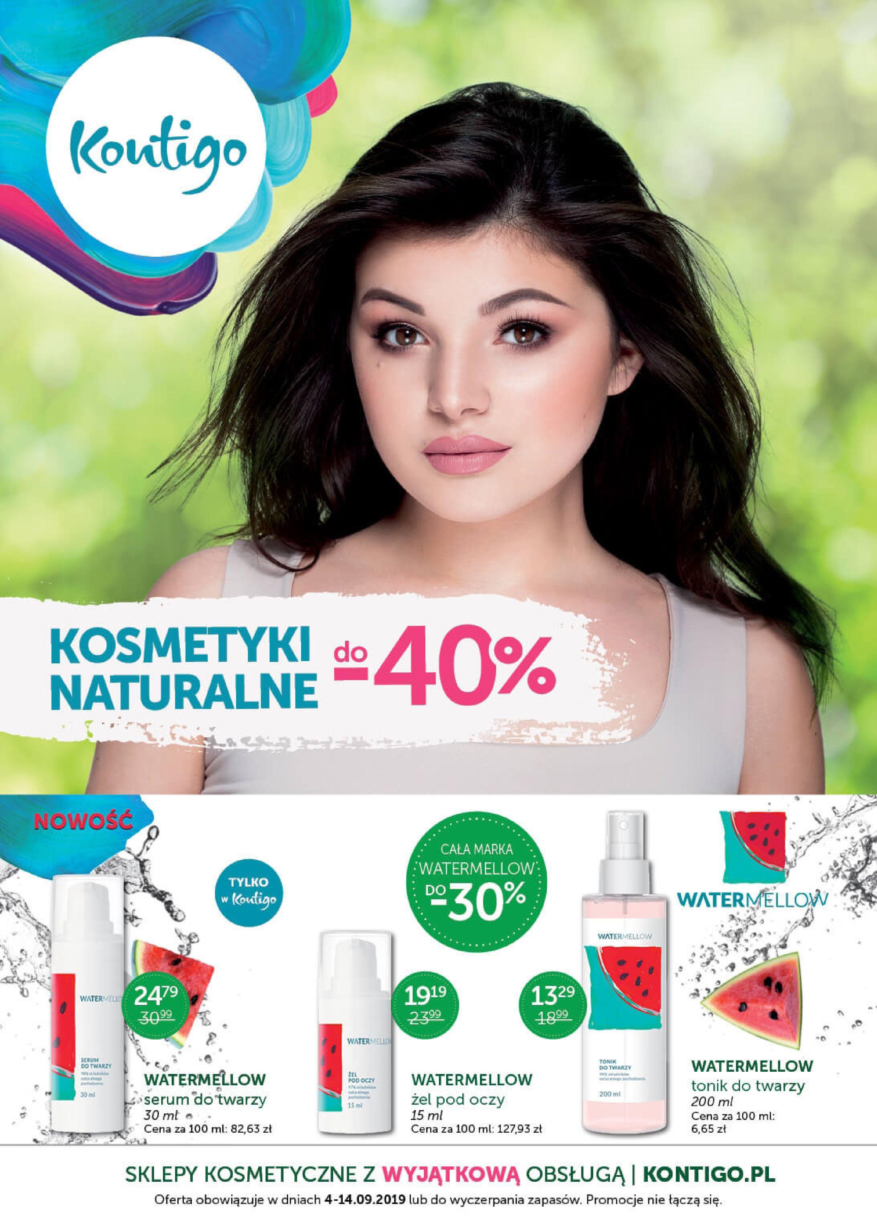 Gazetka Kontigo - Oferta na kosmetyki-03.09.2019-14.09.2019-page-