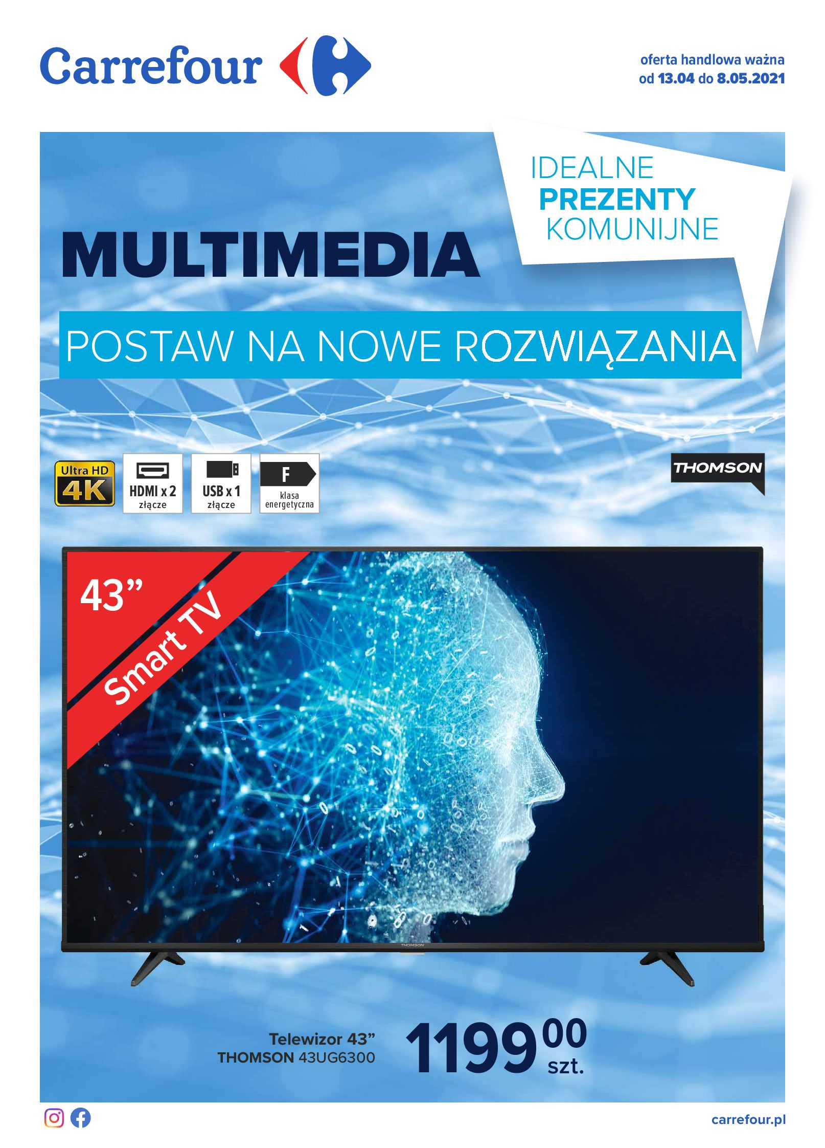 Carrefour:  Gazetka Multimedia 12.04.2021