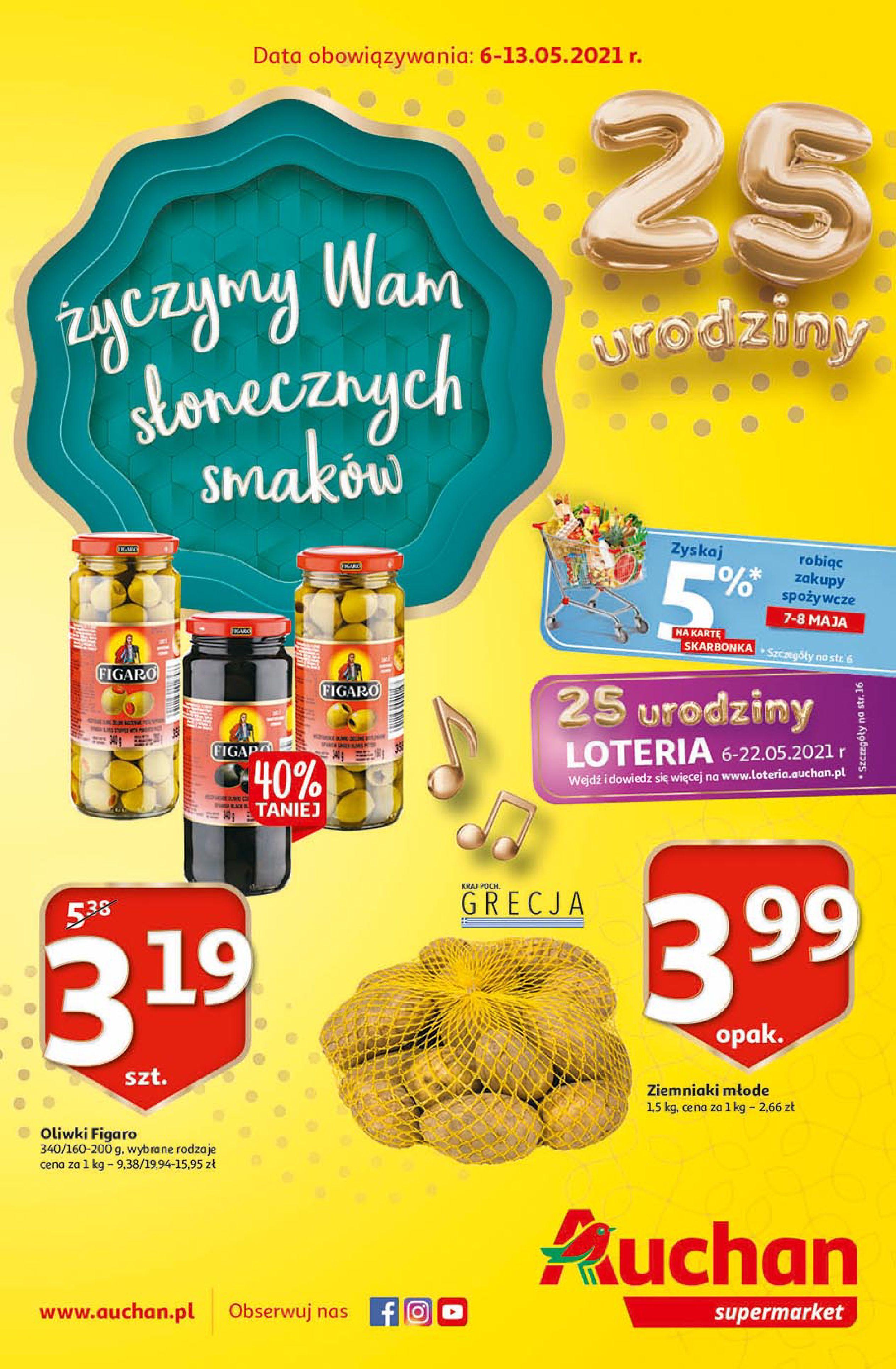 Auchan:  25 Urodziny #3 Supermarkety 05.05.2021