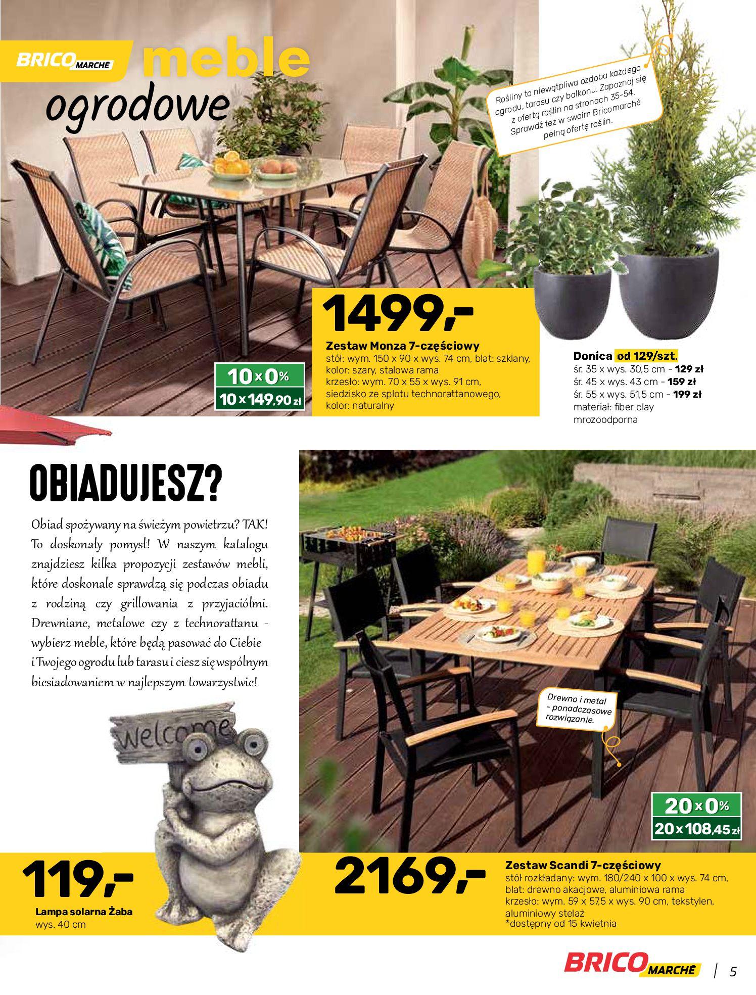 Gazetka Bricomarche: Katalog wiosna 2021-03-31 page-5