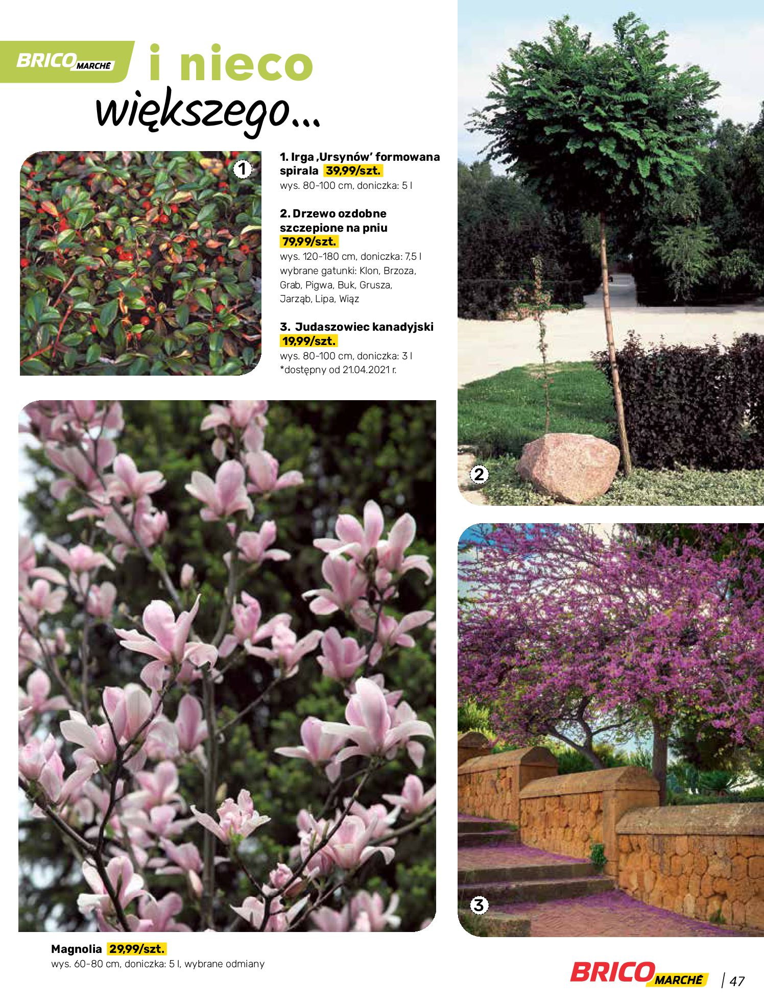 Gazetka Bricomarche: Katalog wiosna 2021-03-31 page-47