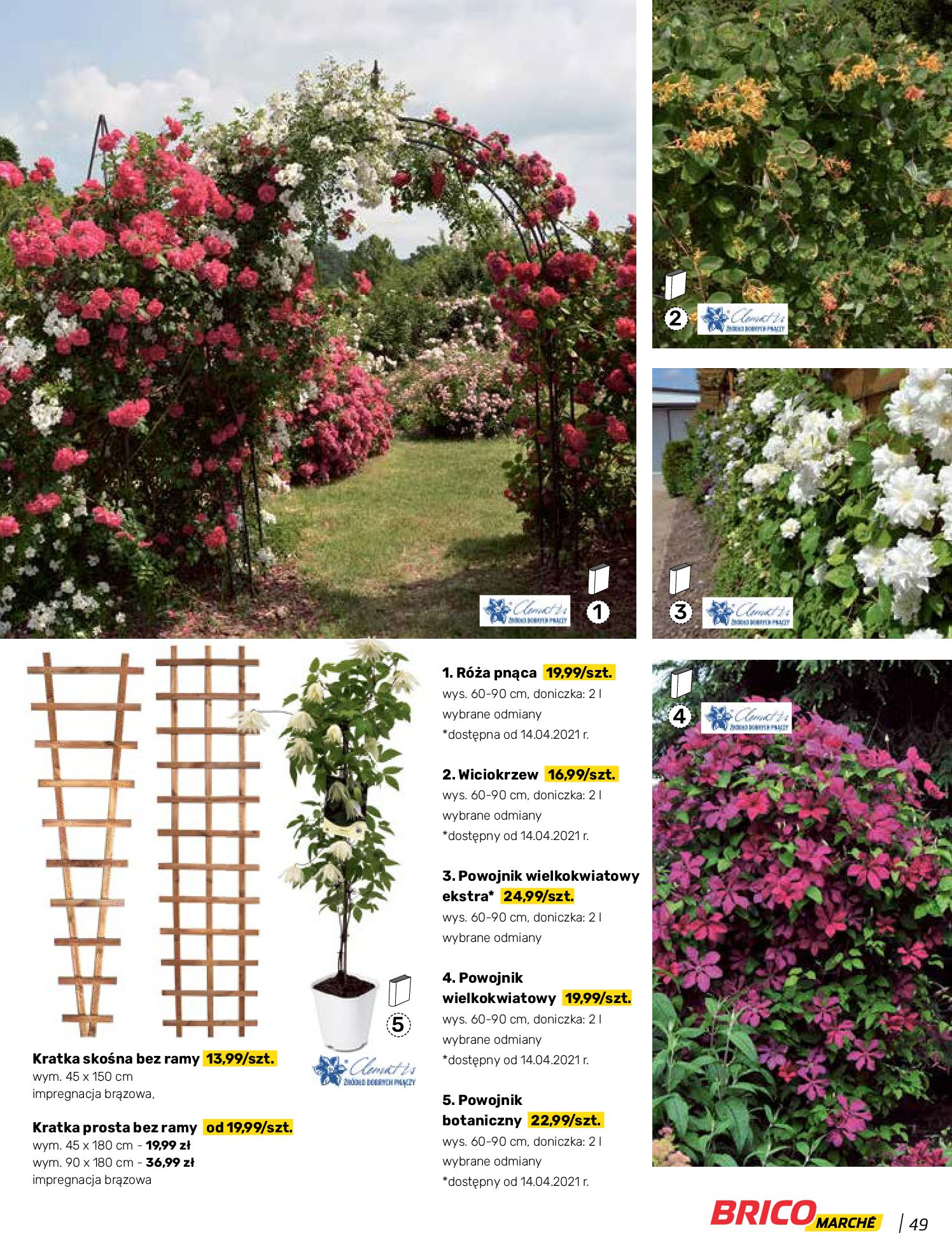Gazetka Bricomarche: Katalog wiosna 2021-03-31 page-49