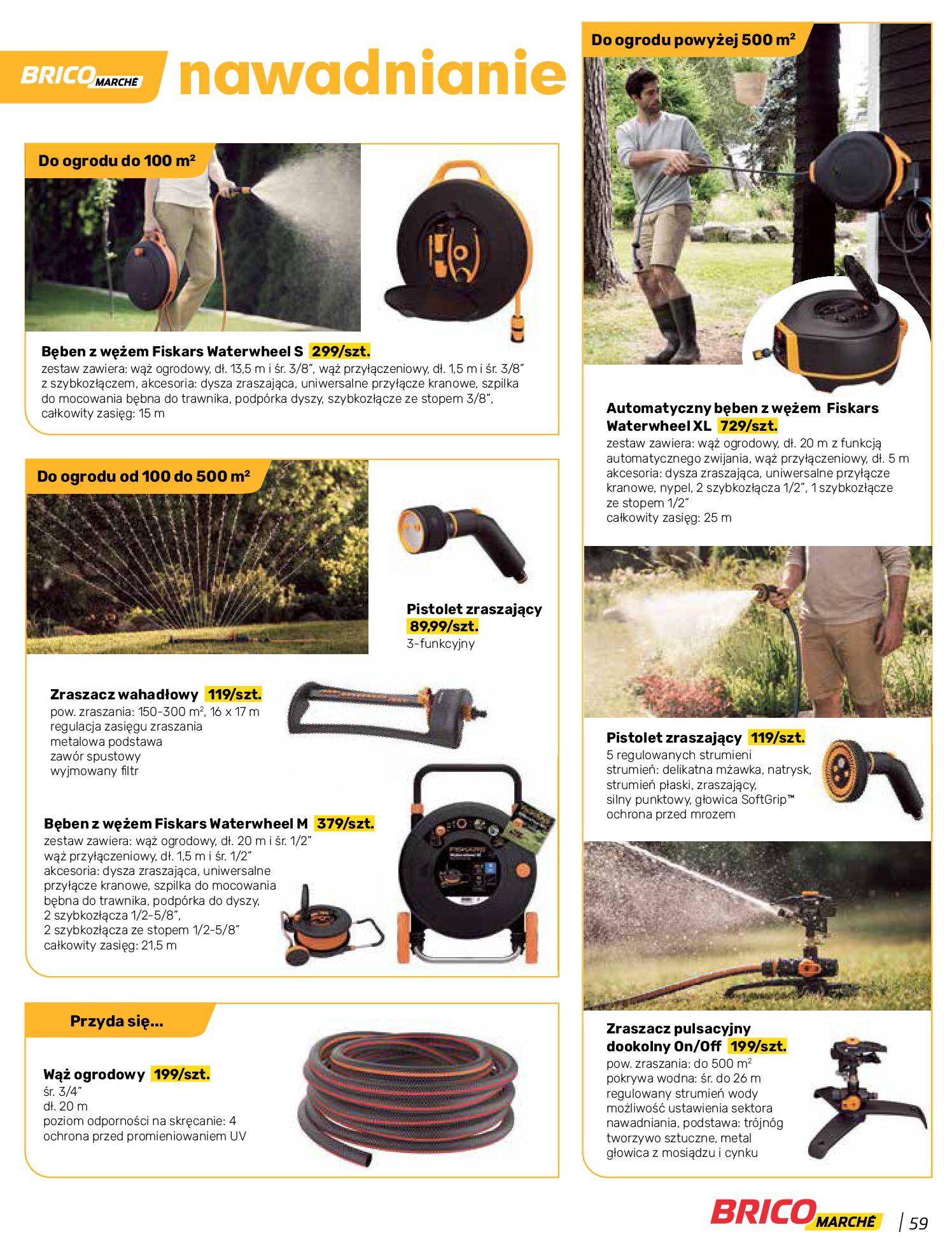 Gazetka Bricomarche: Katalog wiosna 2021-03-31 page-59
