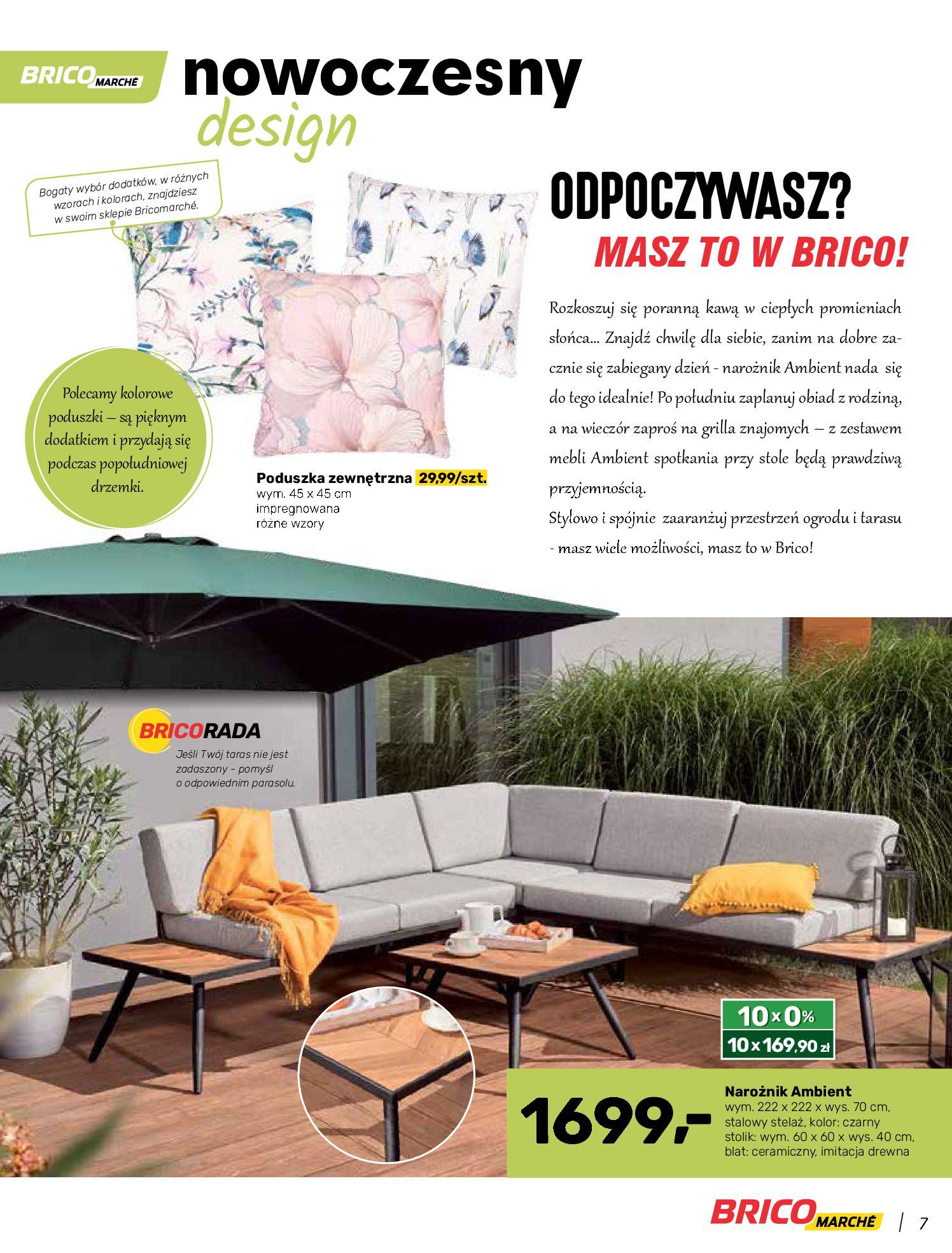Gazetka Bricomarche: Katalog wiosna 2021-03-31 page-7