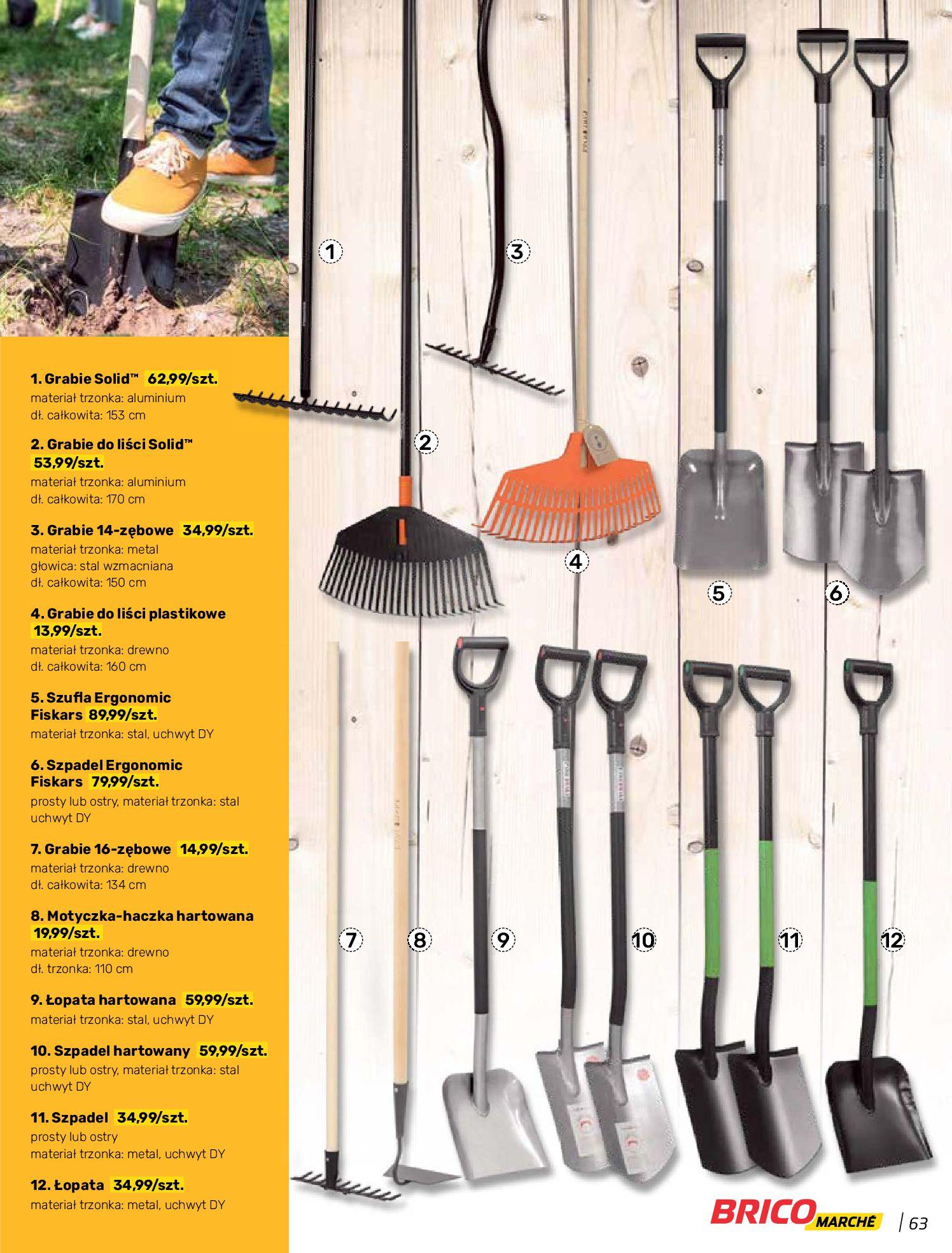 Gazetka Bricomarche: Katalog wiosna 2021-03-31 page-63
