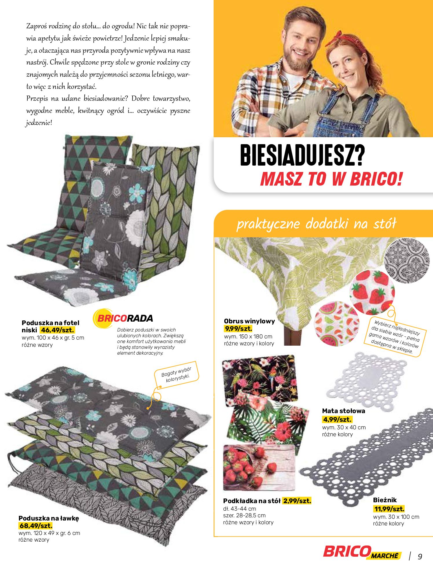Gazetka Bricomarche: Katalog wiosna 2021-03-31 page-9