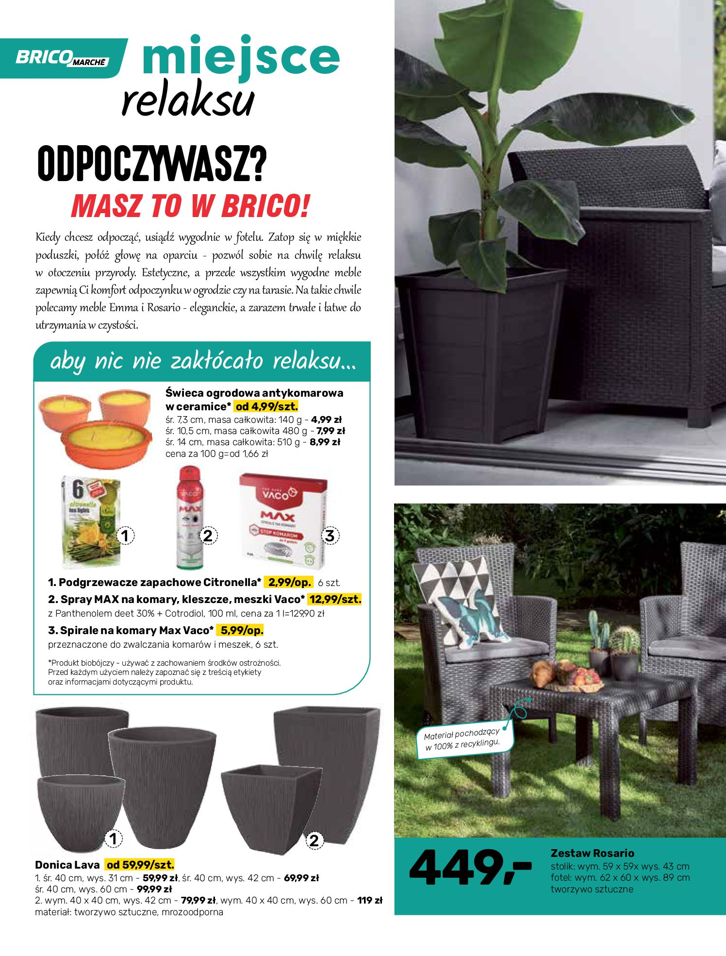 Gazetka Bricomarche: Katalog wiosna 2021-03-31 page-12