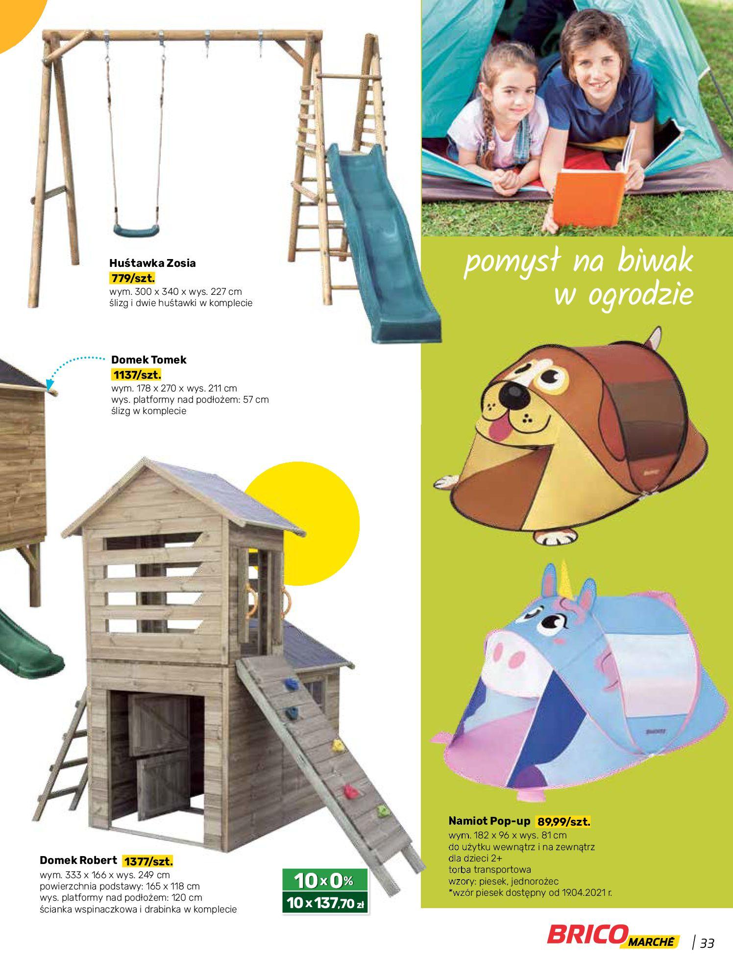 Gazetka Bricomarche: Katalog wiosna 2021-03-31 page-33