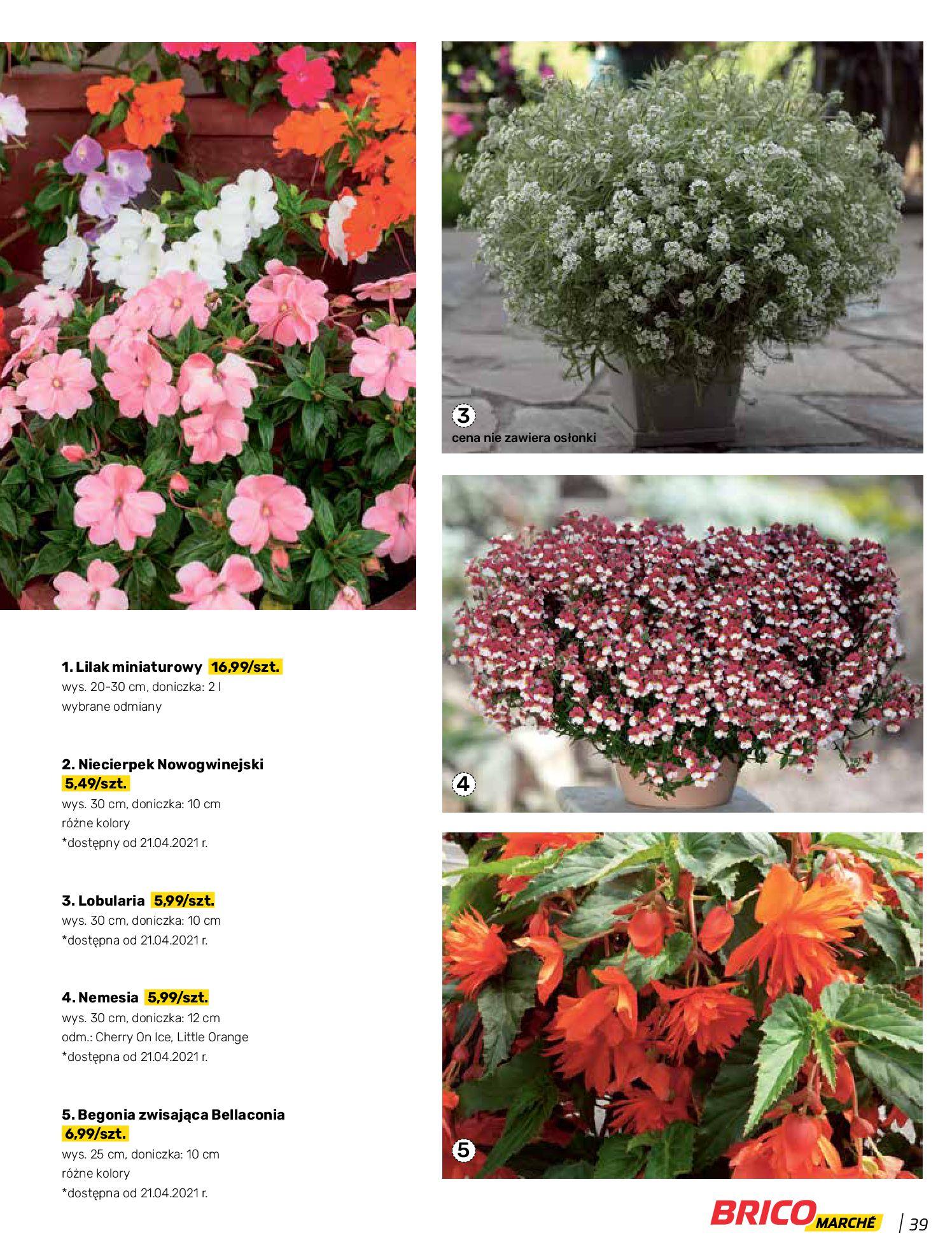 Gazetka Bricomarche: Katalog wiosna 2021-03-31 page-39