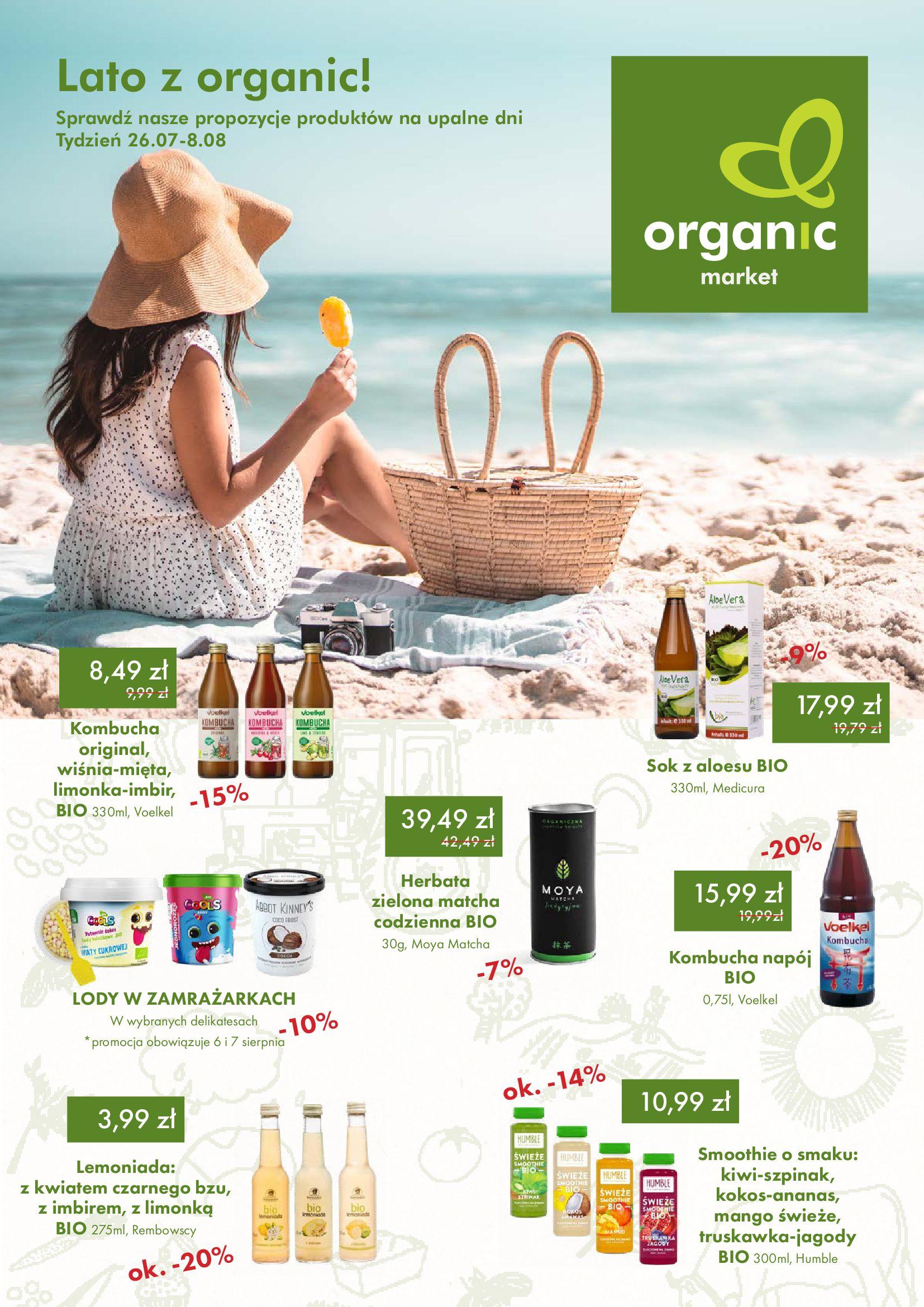 Organic Farma Zdrowia:  Gazetka Organic Farma Zdrowia 25.07.2021