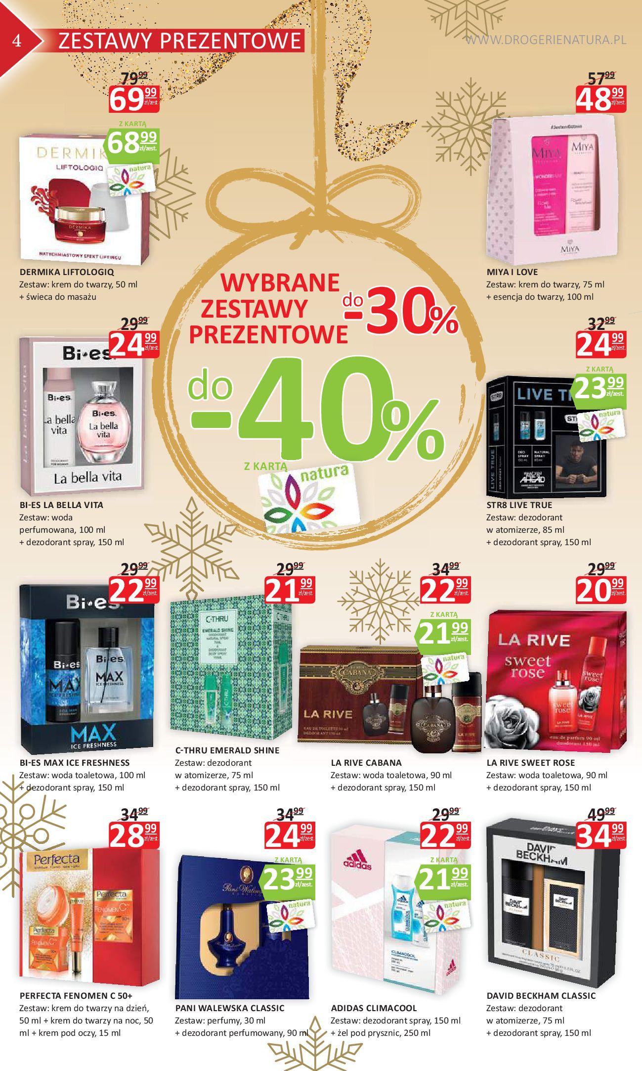 Gazetka Drogerie Natura - Oferta na artykuły kosmetyczne-06.11.2018-21.11.2018-page-