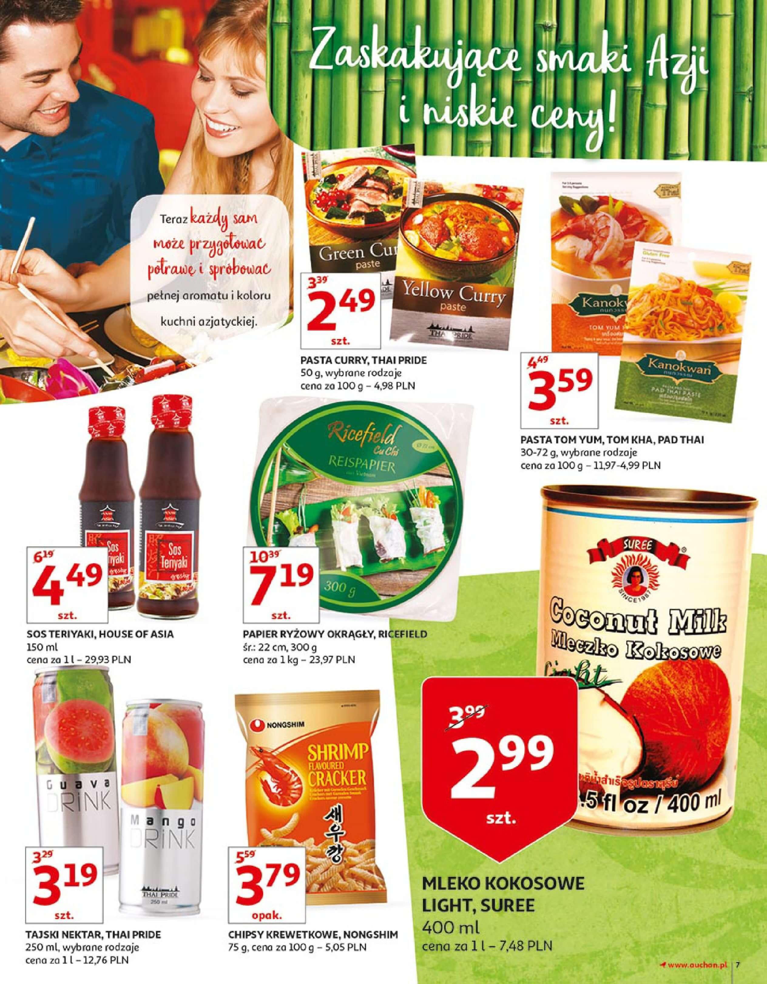 Gazetka Auchan - Zbijamy ceny zawodowo!-14.02.2018-22.02.2018-page-7