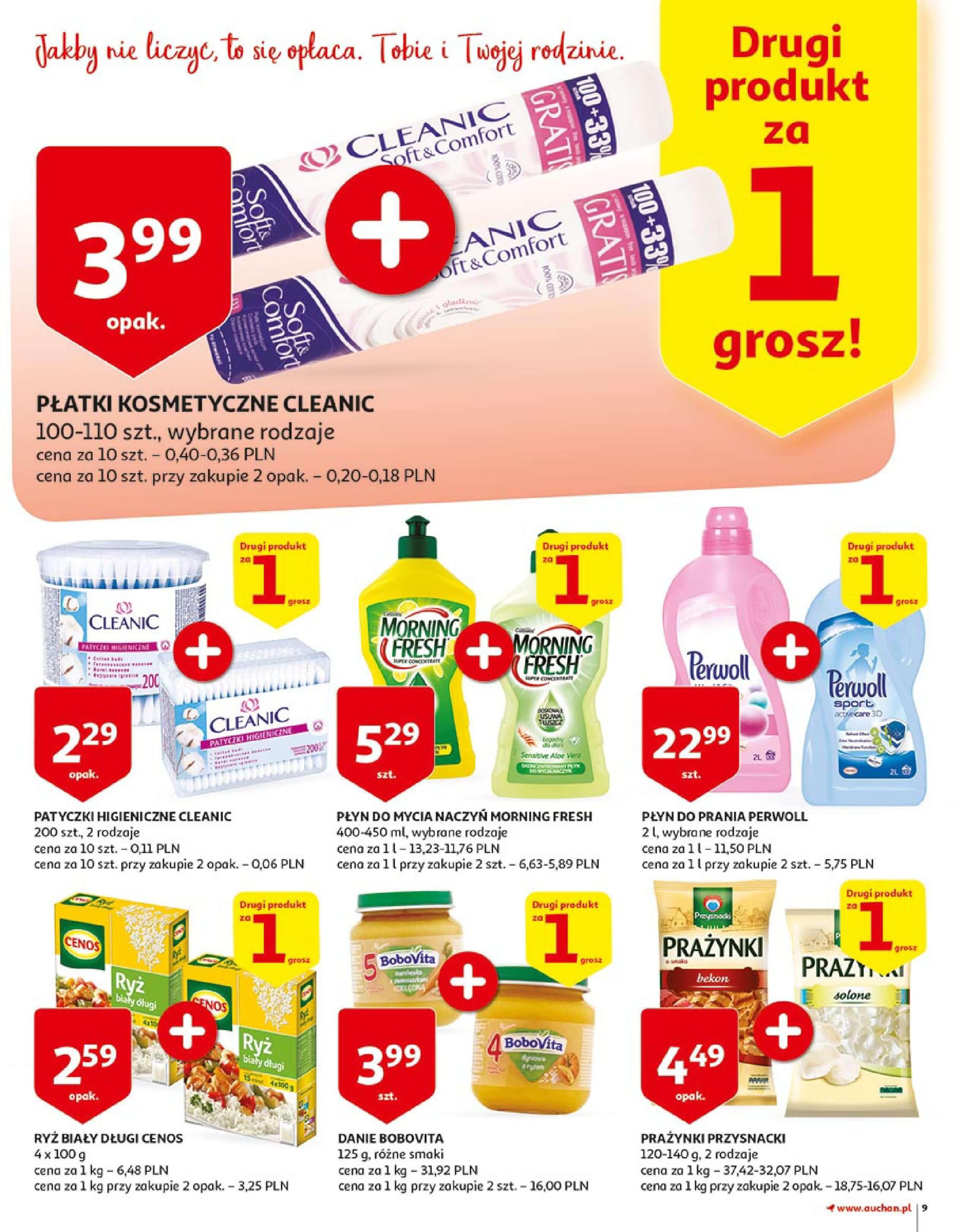 Gazetka Auchan - Zbijamy ceny zawodowo!-14.02.2018-22.02.2018-page-9