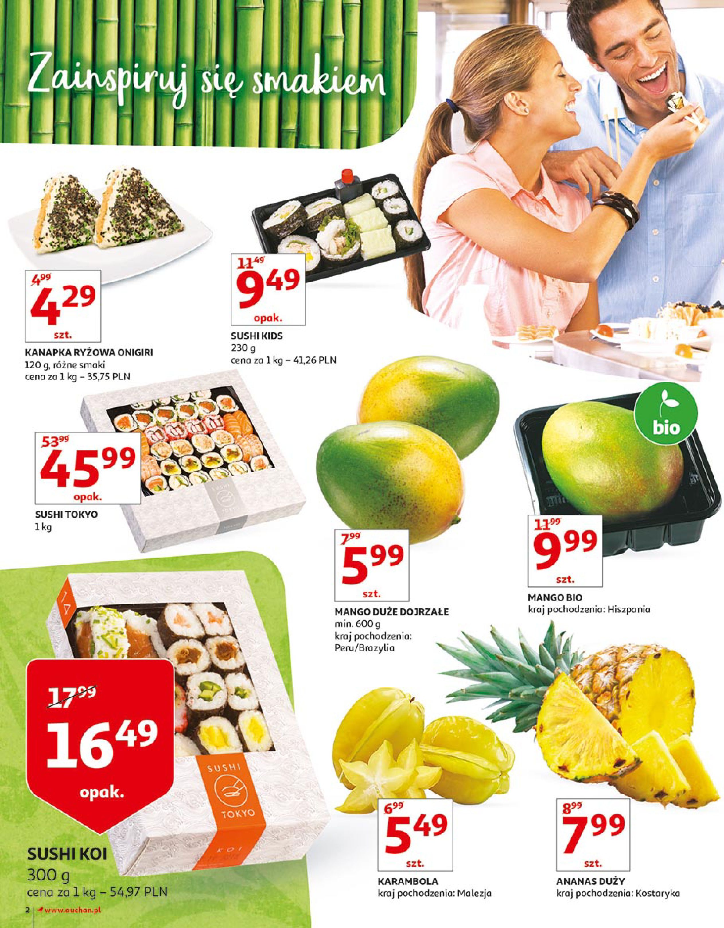 Gazetka Auchan - Zbijamy ceny zawodowo!-14.02.2018-22.02.2018-page-2