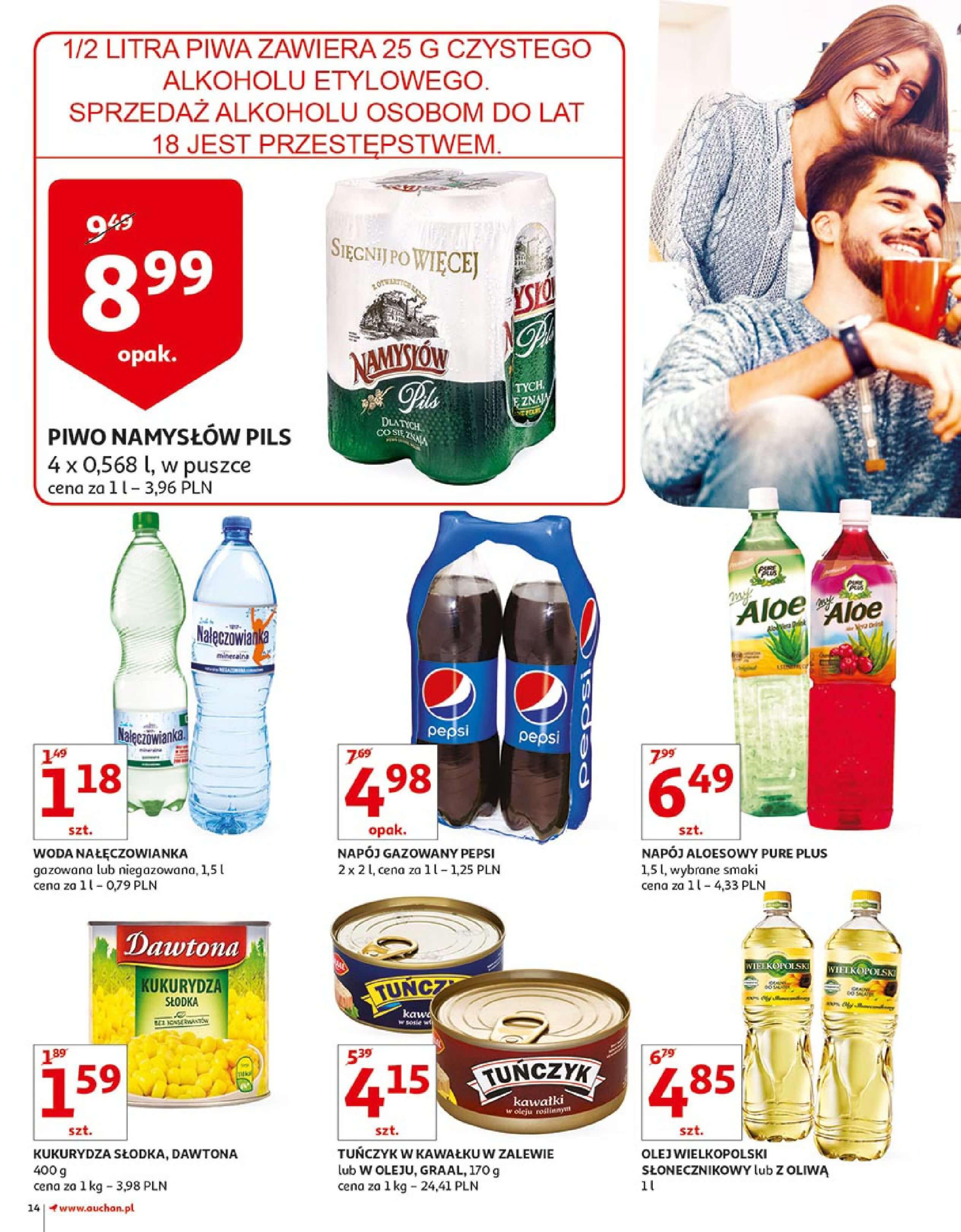 Gazetka Auchan - Zbijamy ceny zawodowo!-14.02.2018-22.02.2018-page-14