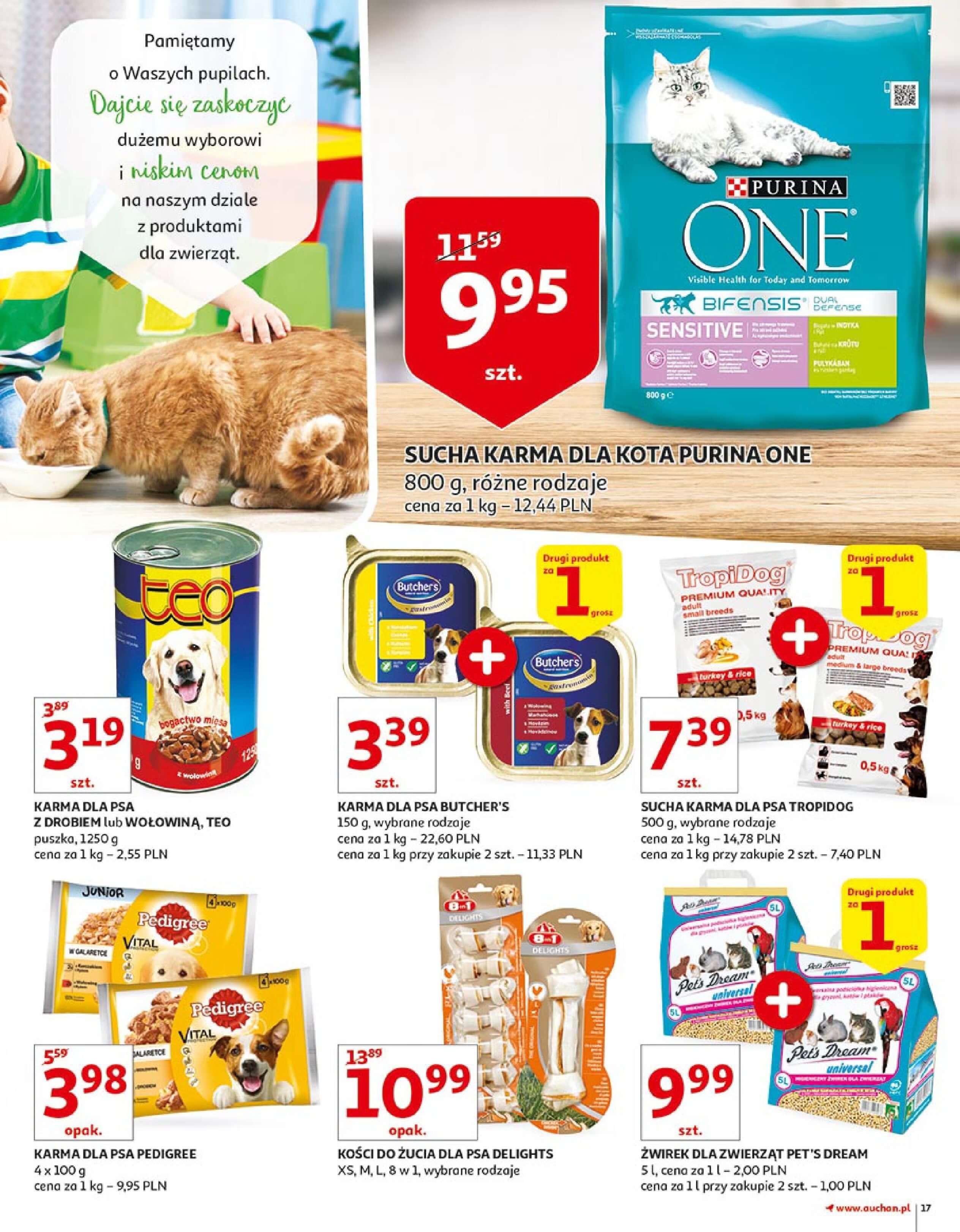 Gazetka Auchan - Zbijamy ceny zawodowo!-14.02.2018-22.02.2018-page-17