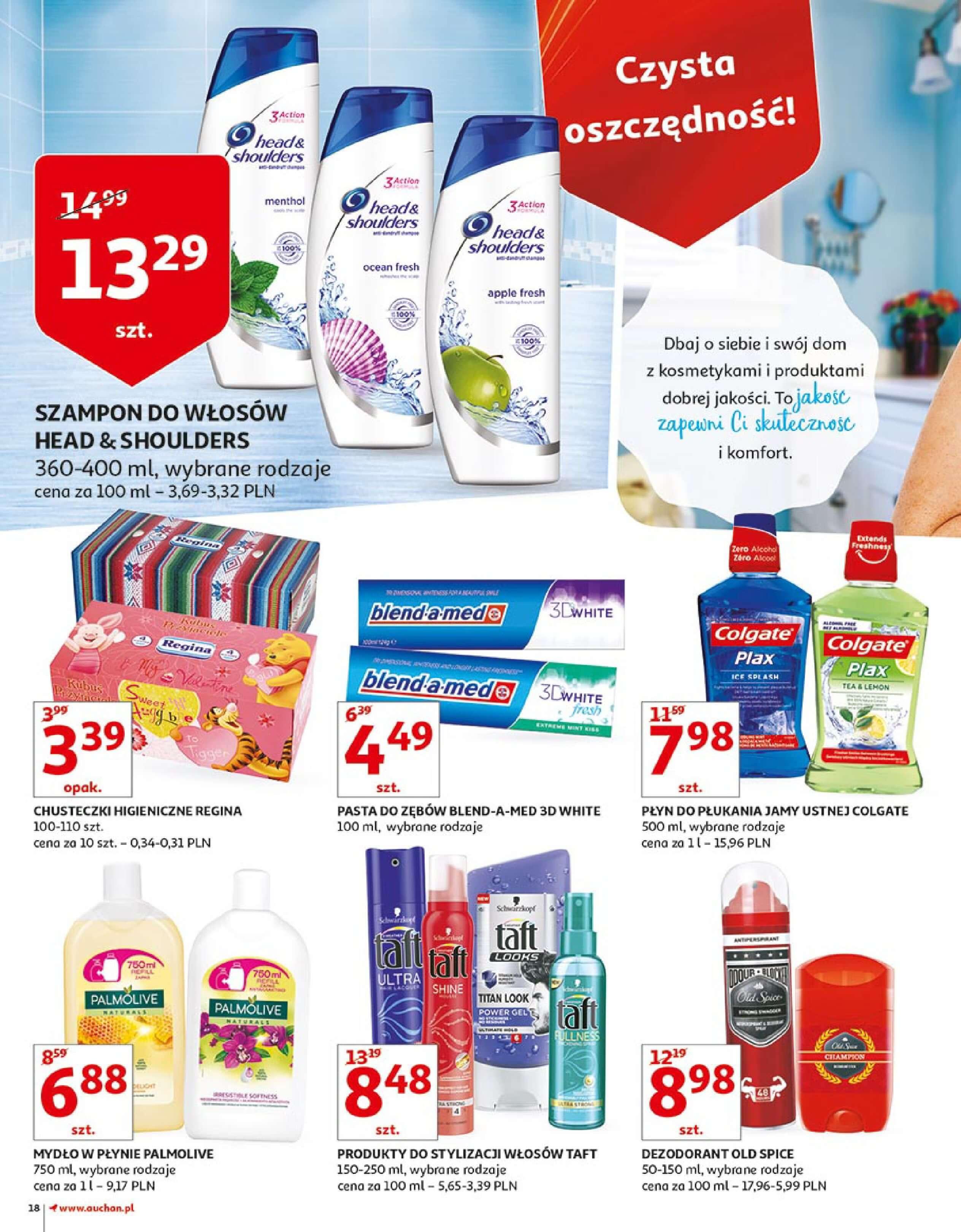 Gazetka Auchan - Zbijamy ceny zawodowo!-14.02.2018-22.02.2018-page-18