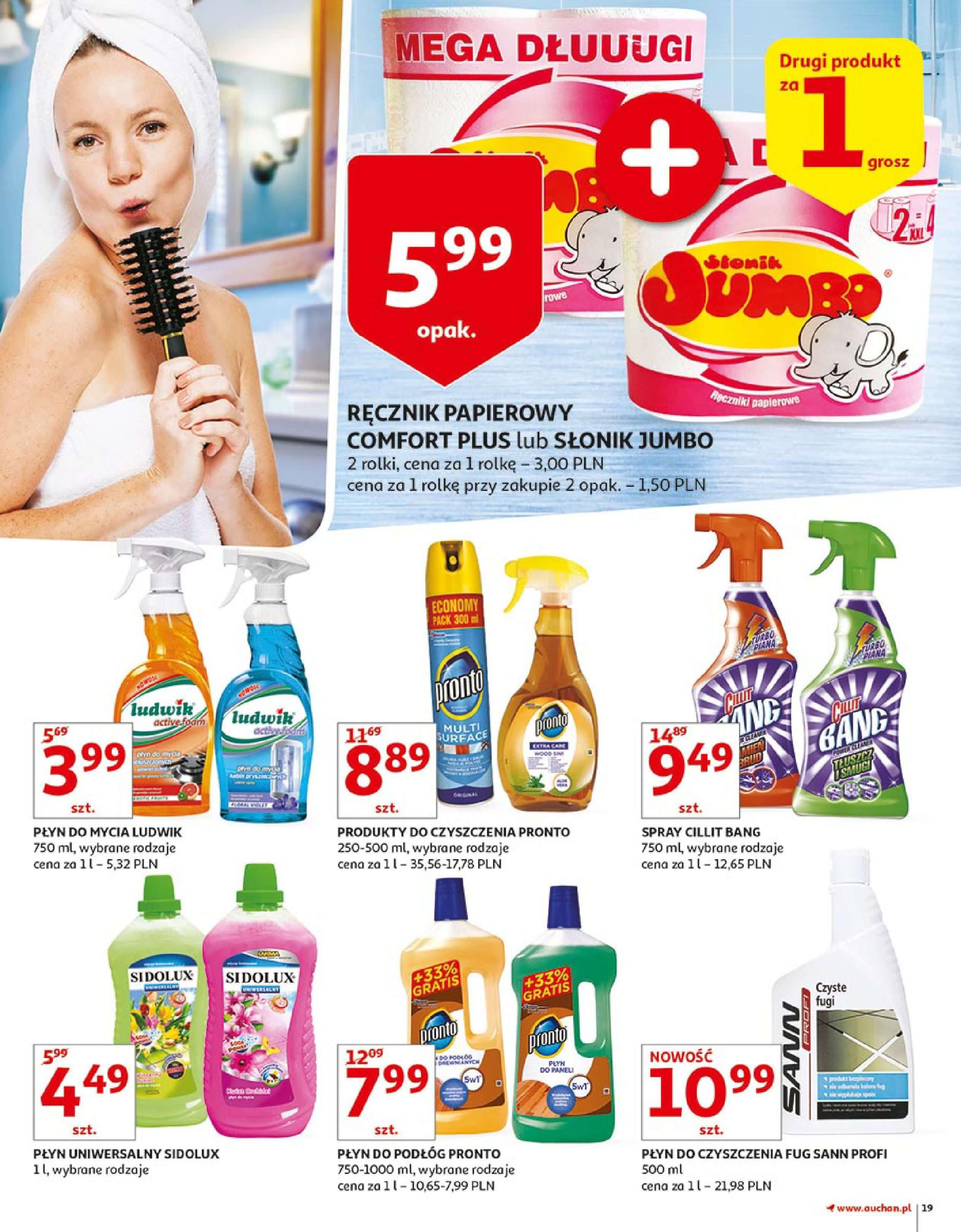 Gazetka Auchan - Zbijamy ceny zawodowo!-14.02.2018-22.02.2018-page-19