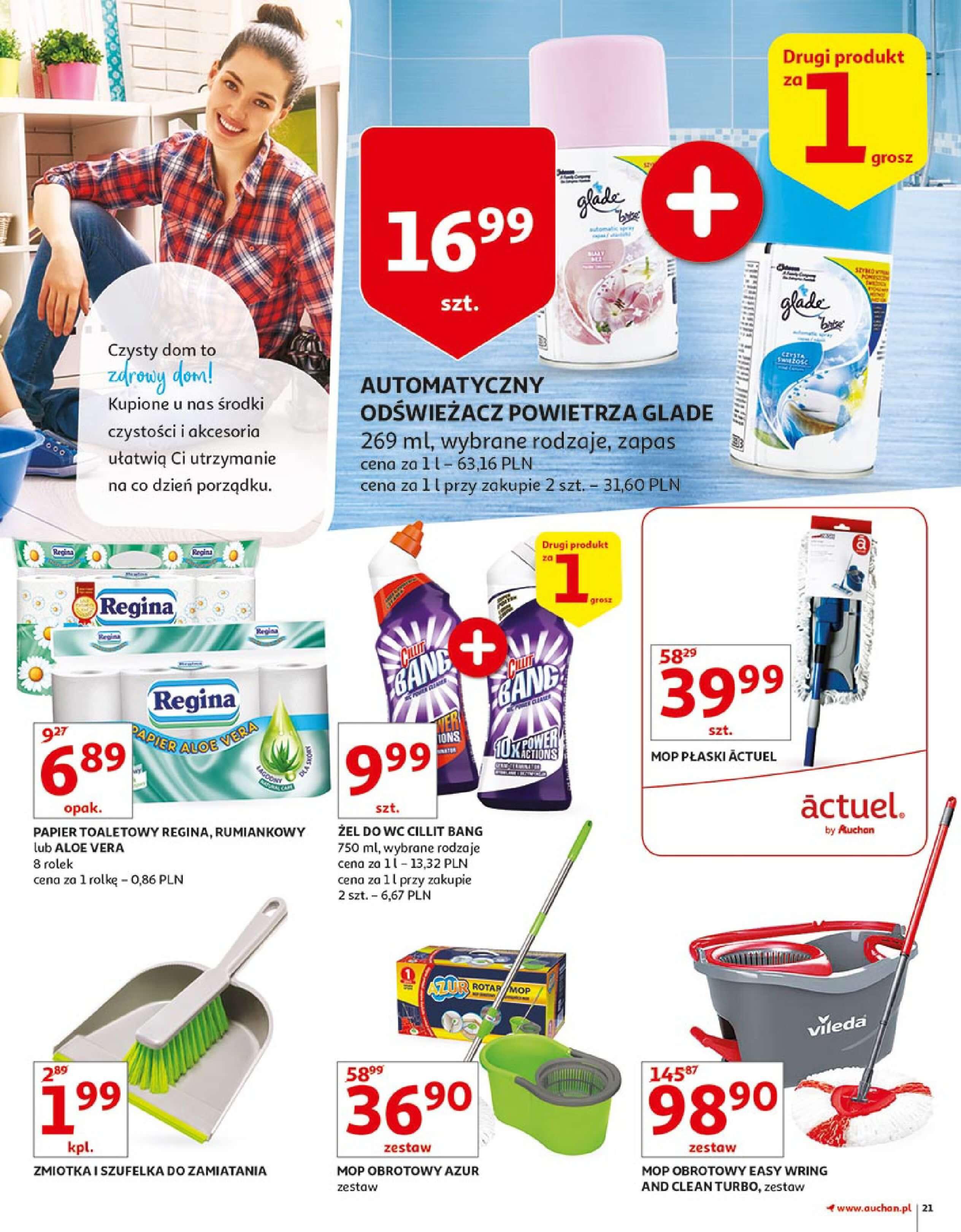 Gazetka Auchan - Zbijamy ceny zawodowo!-14.02.2018-22.02.2018-page-21