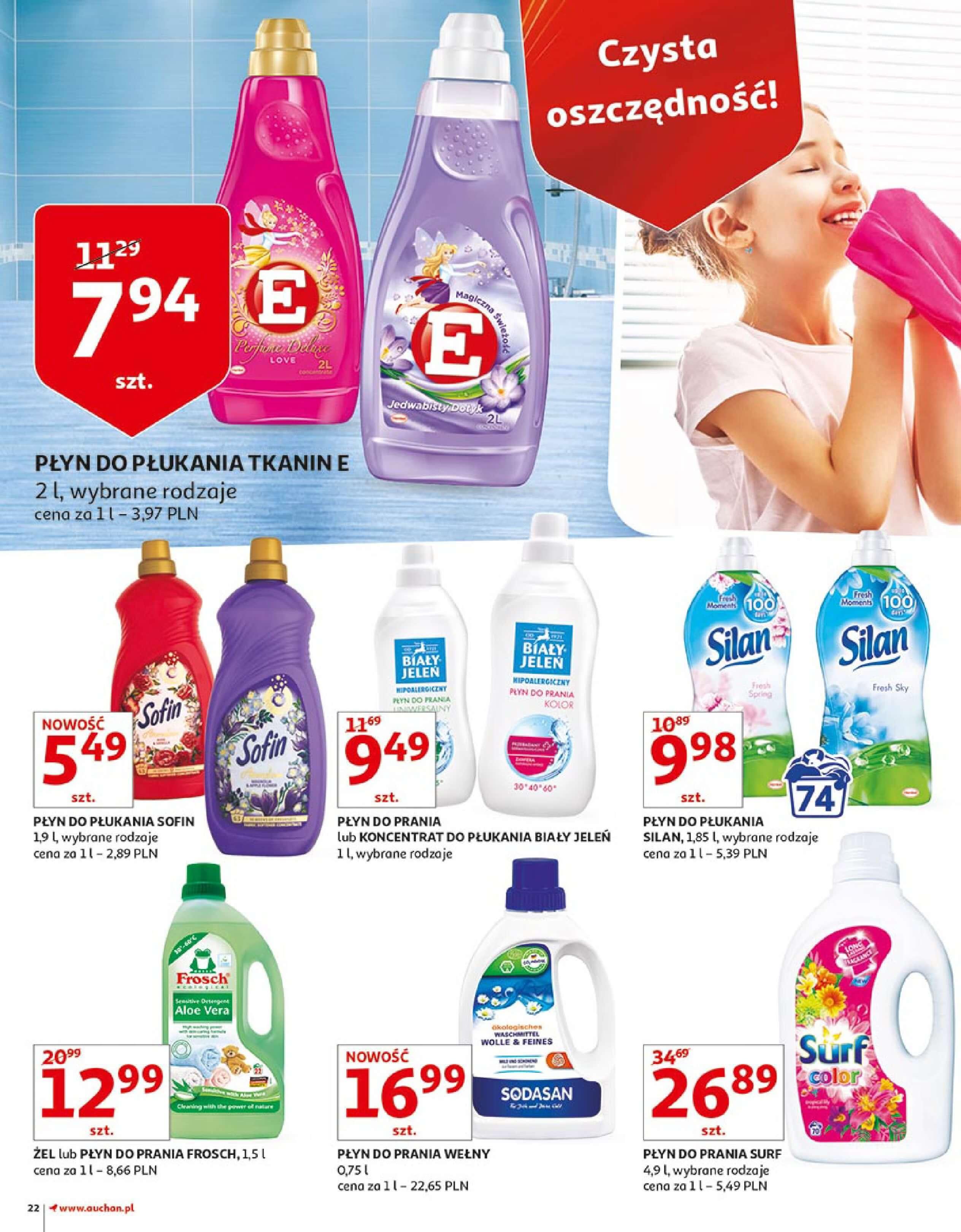 Gazetka Auchan - Zbijamy ceny zawodowo!-14.02.2018-22.02.2018-page-22