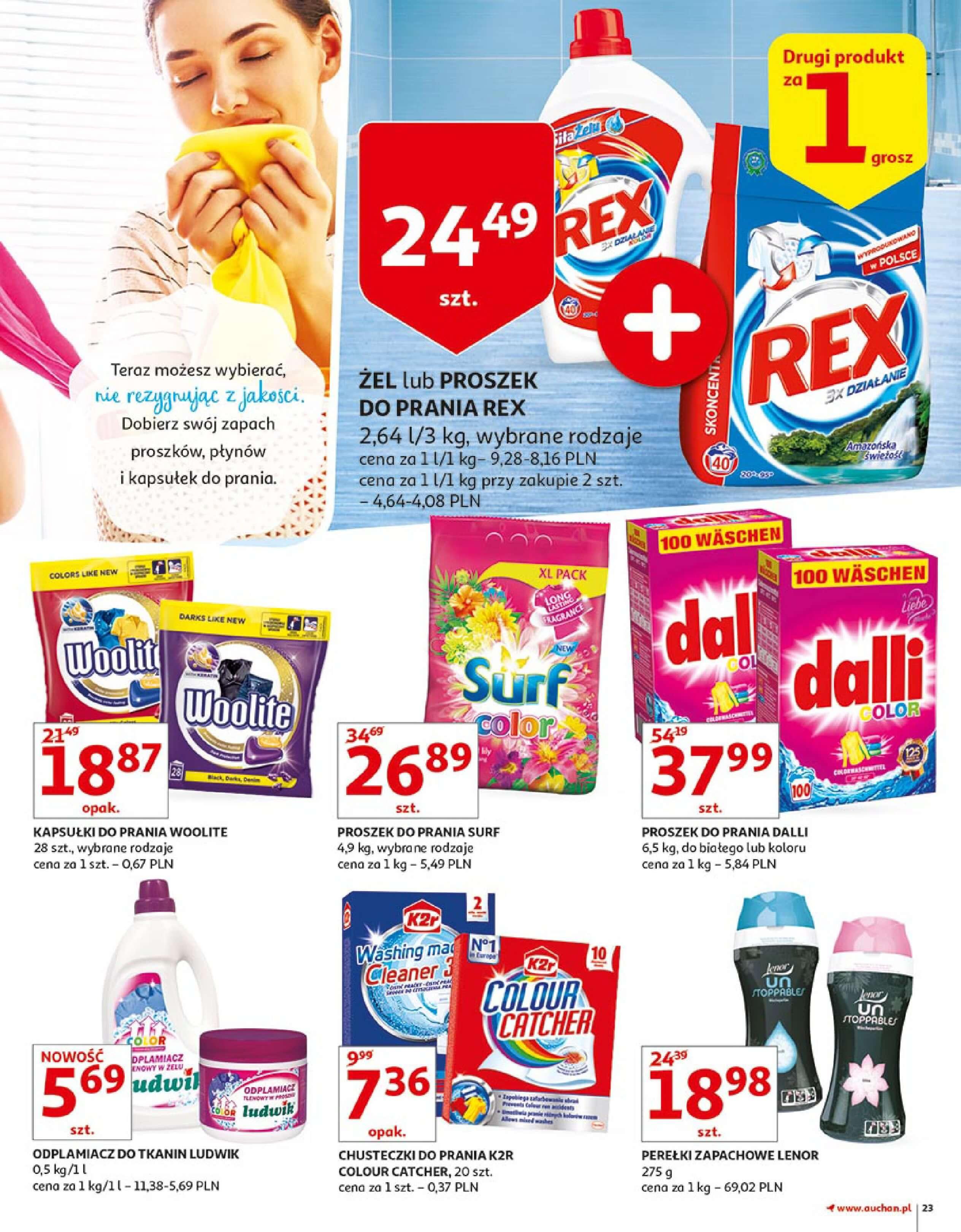 Gazetka Auchan - Zbijamy ceny zawodowo!-14.02.2018-22.02.2018-page-23