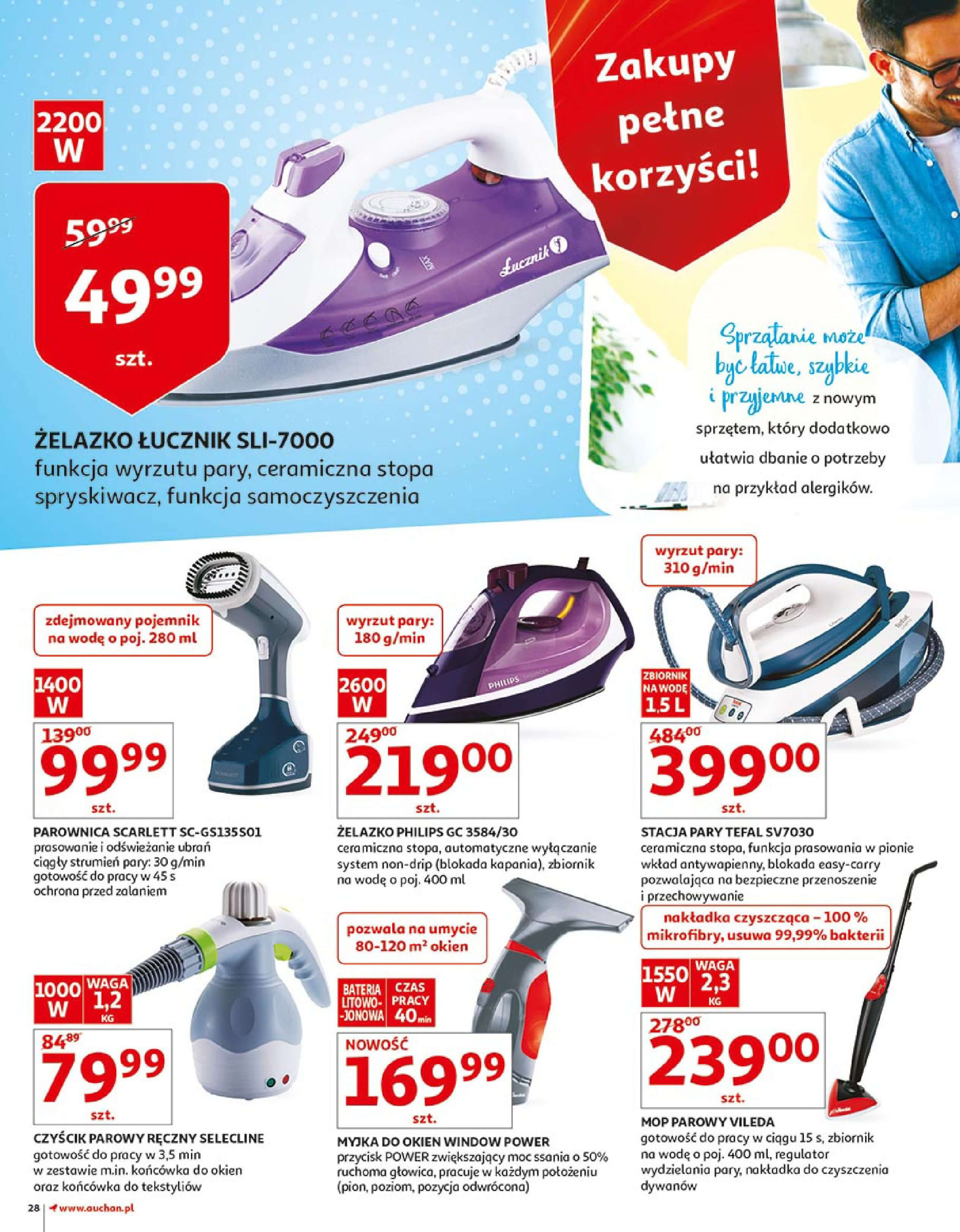 Gazetka Auchan - Zbijamy ceny zawodowo!-14.02.2018-22.02.2018-page-28