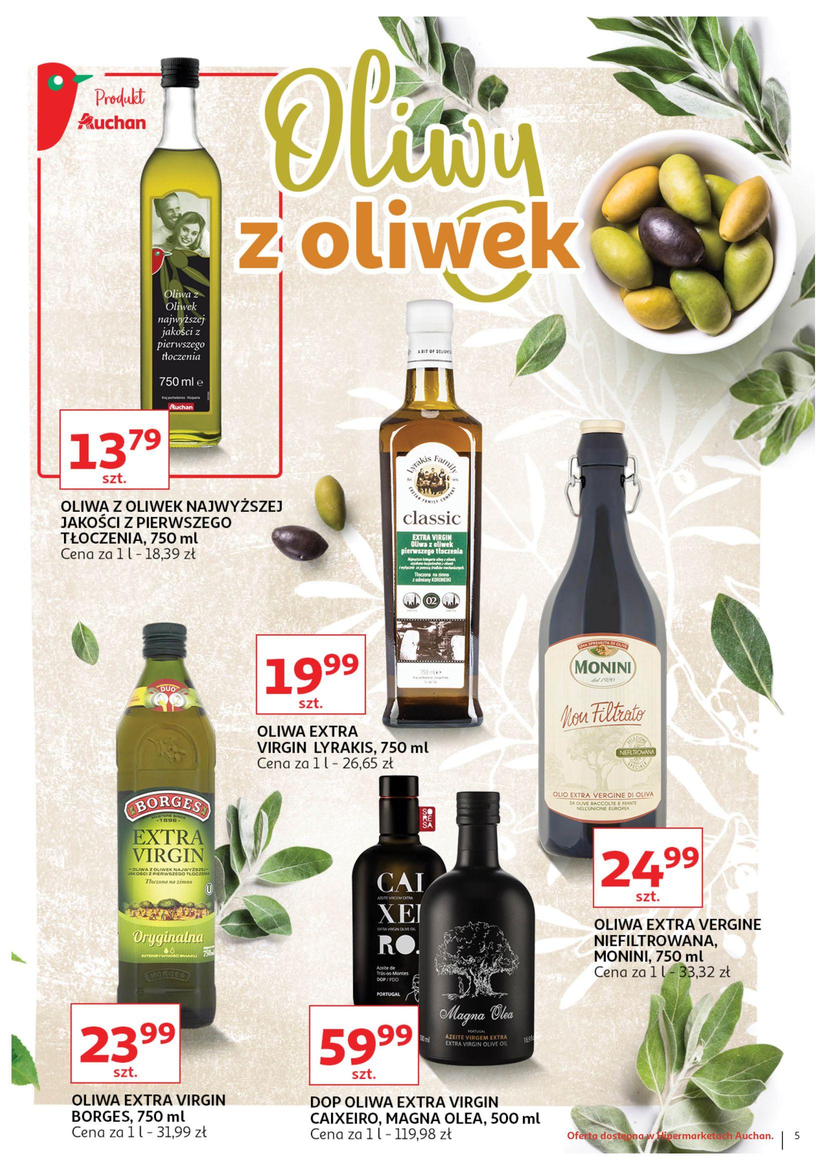 Gazetka Auchan - Letnie okazje Hipermarkety-03.07.2019-17.07.2019-page-