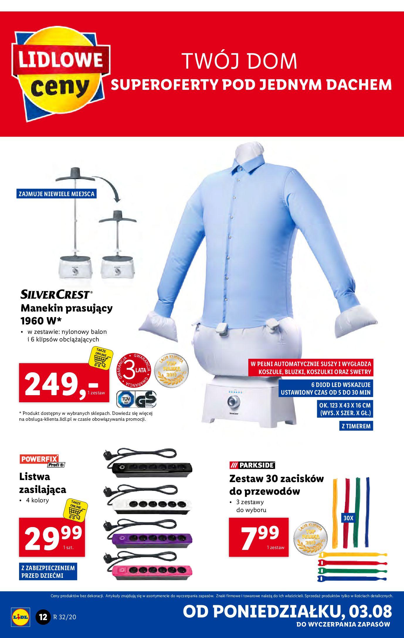 Gazetka Lidl - Katalog od 03.08-02.08.2020-08.08.2020-page-12