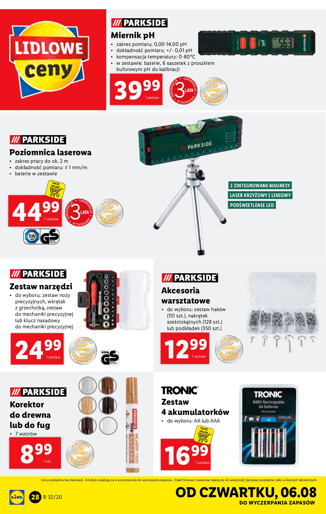 Gazetka Lidl - Katalog od 03.08-02.08.2020-08.08.2020-page-28