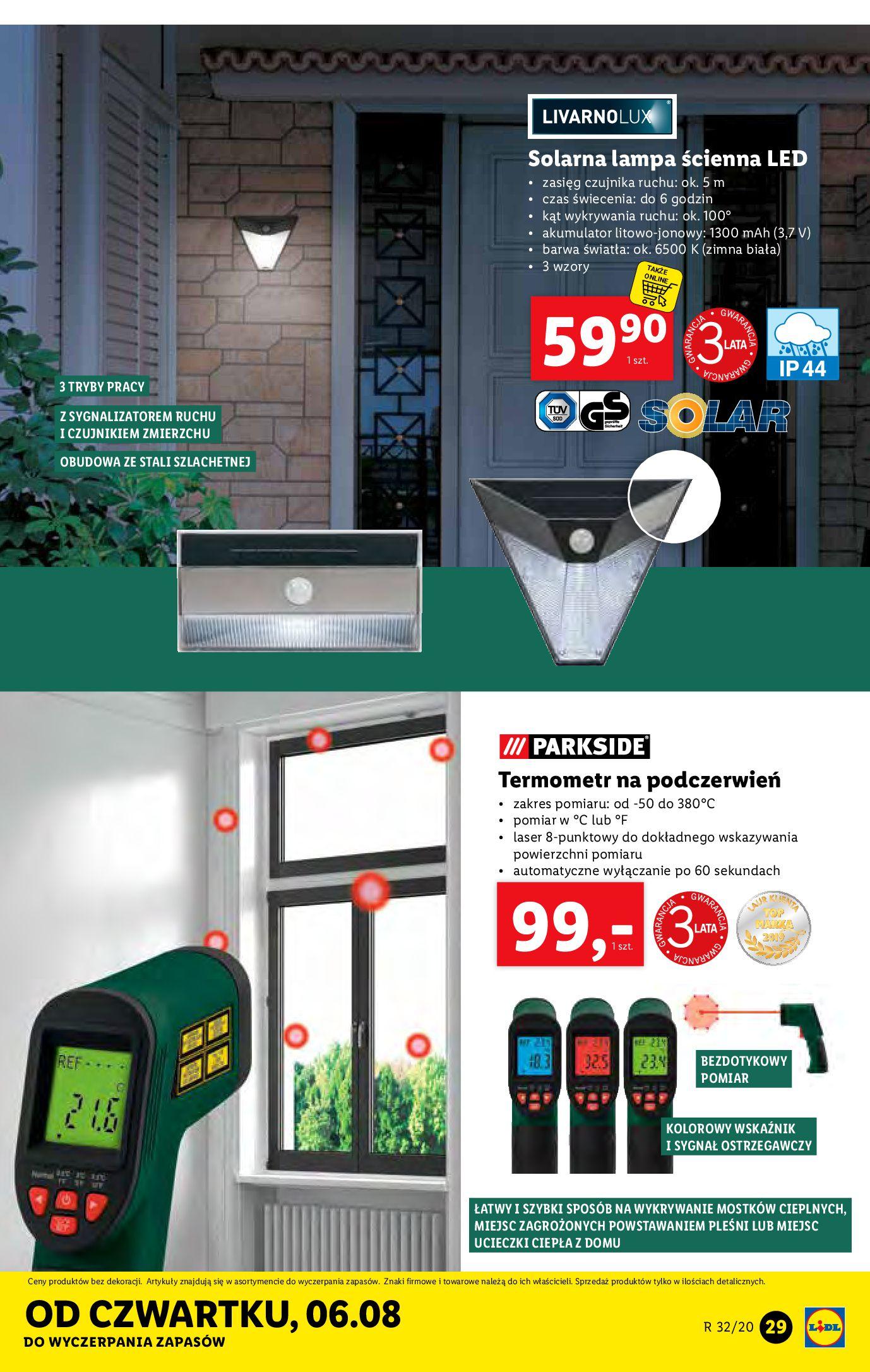 Gazetka Lidl - Katalog od 03.08-02.08.2020-08.08.2020-page-29