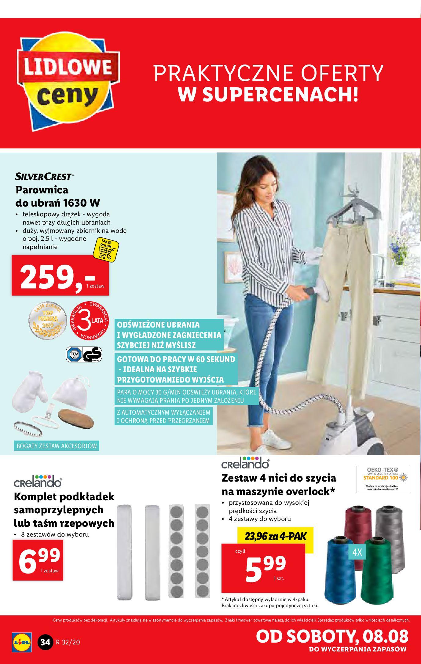 Gazetka Lidl - Katalog od 03.08-02.08.2020-08.08.2020-page-34