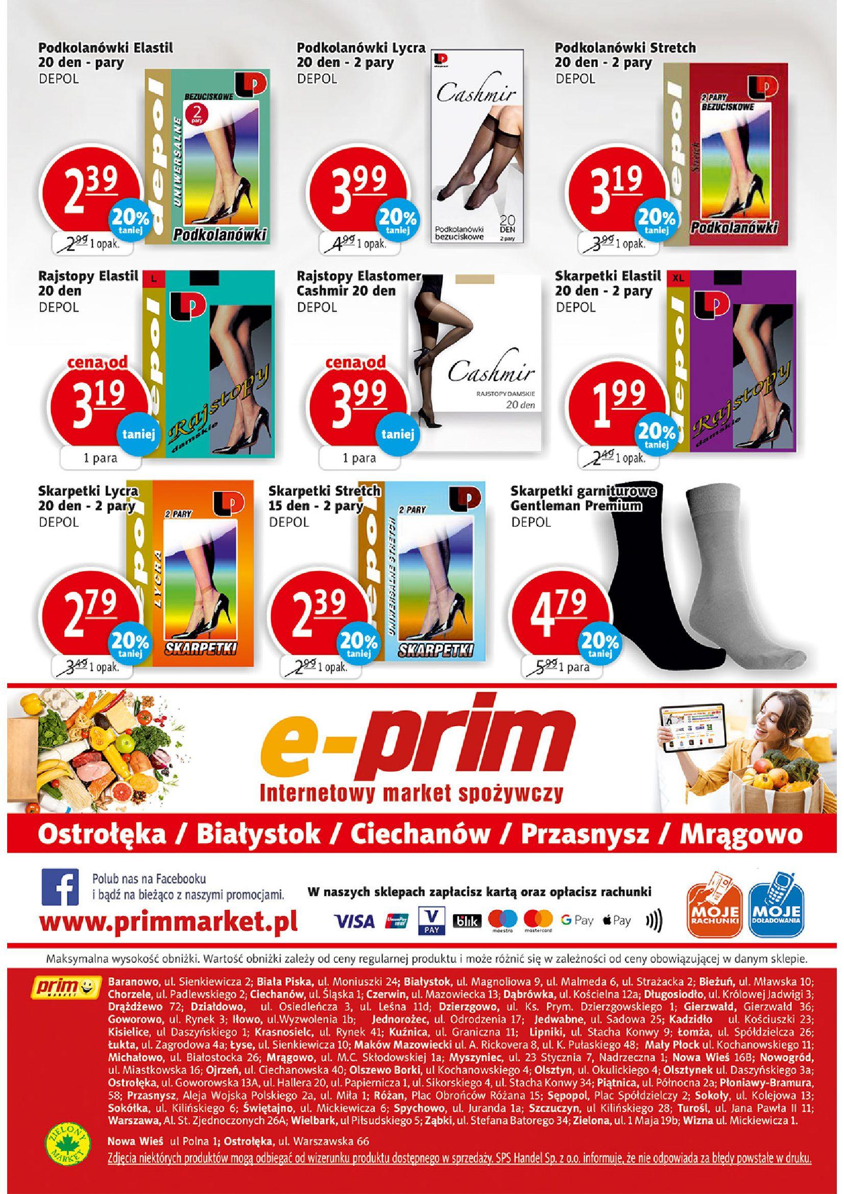 Gazetka PRIM MARKET: Gazetka PRIM MARKET - 16-22.09. 2021-09-16 page-16