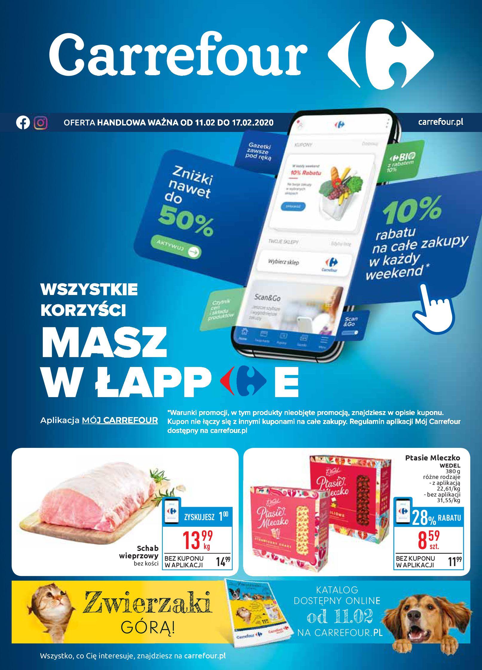 Gazetka Carrefour - Gazetka promocyjna-10.02.2020-17.02.2020-page-1