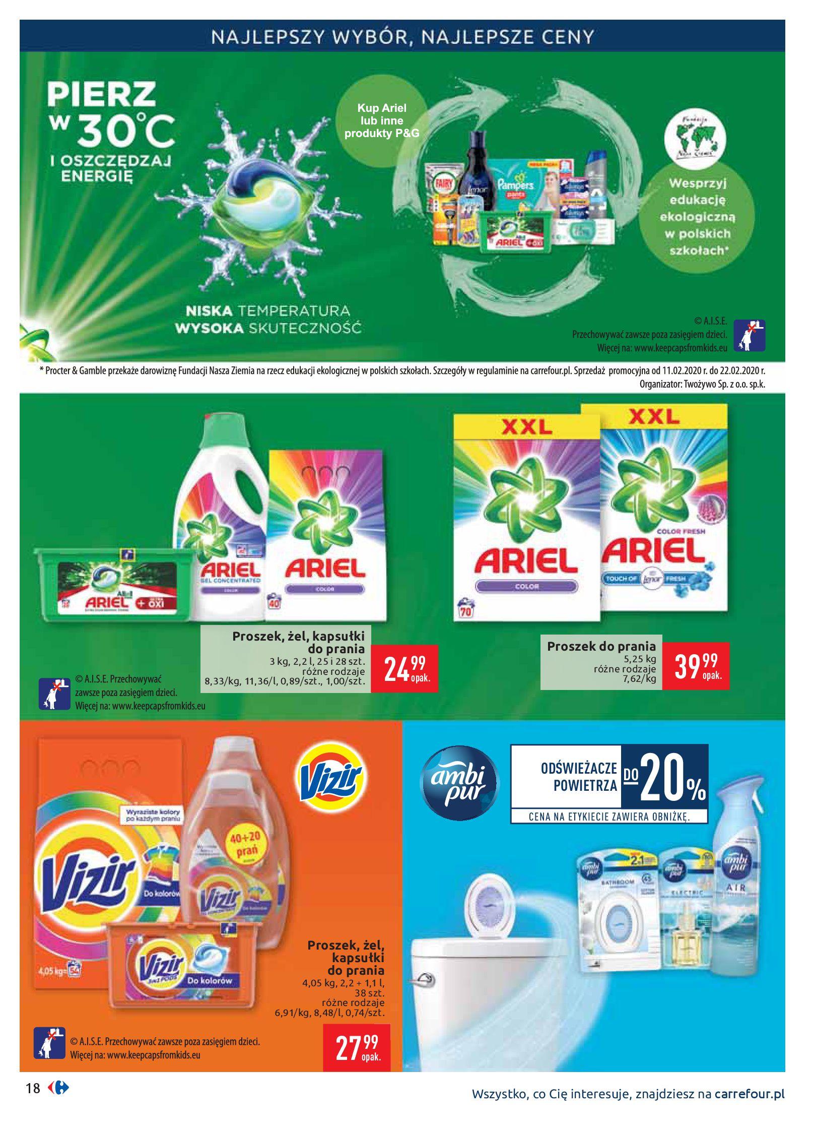 Gazetka Carrefour - Gazetka promocyjna-10.02.2020-17.02.2020-page-18