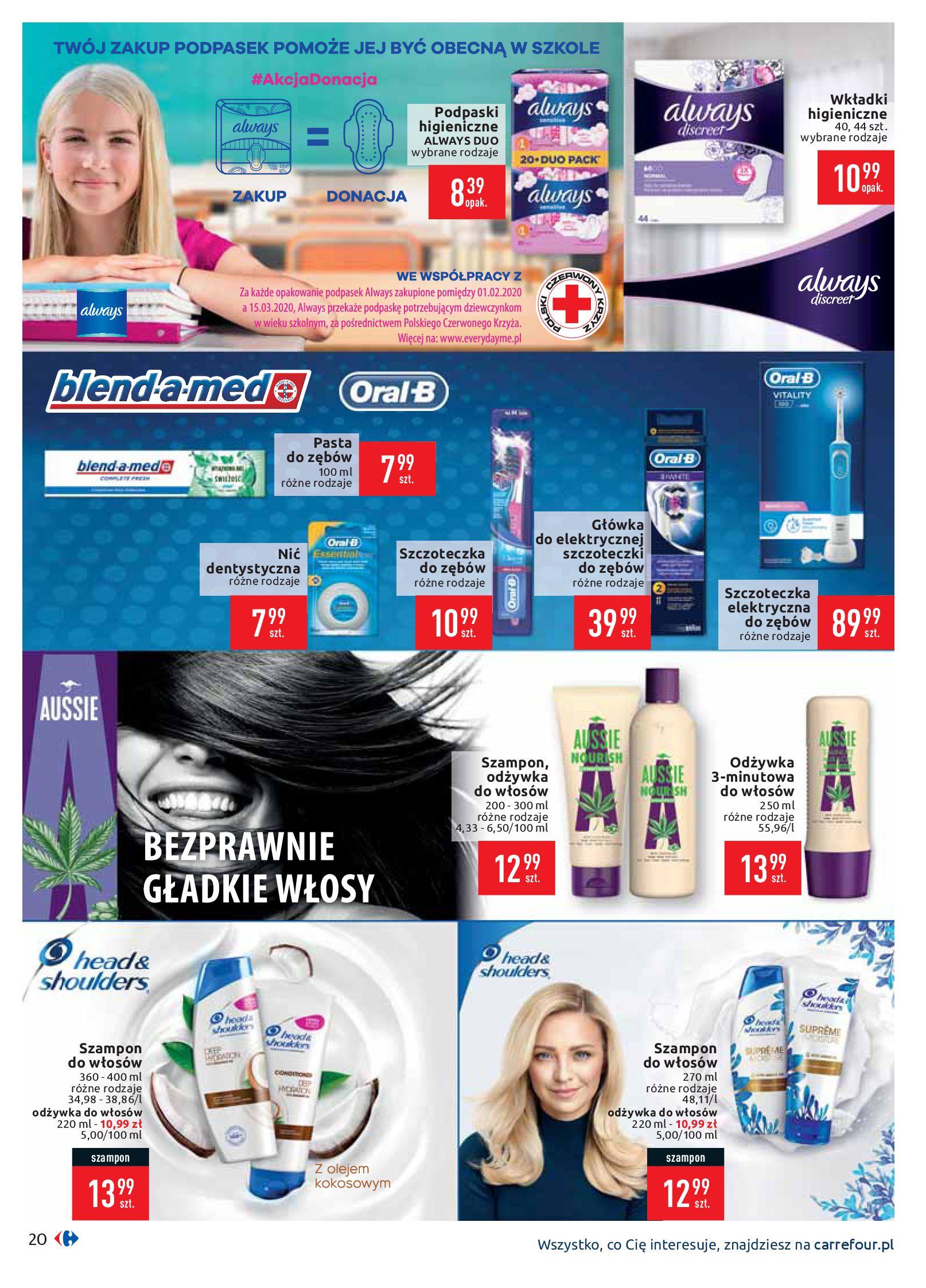 Gazetka Carrefour - Gazetka promocyjna-10.02.2020-17.02.2020-page-20