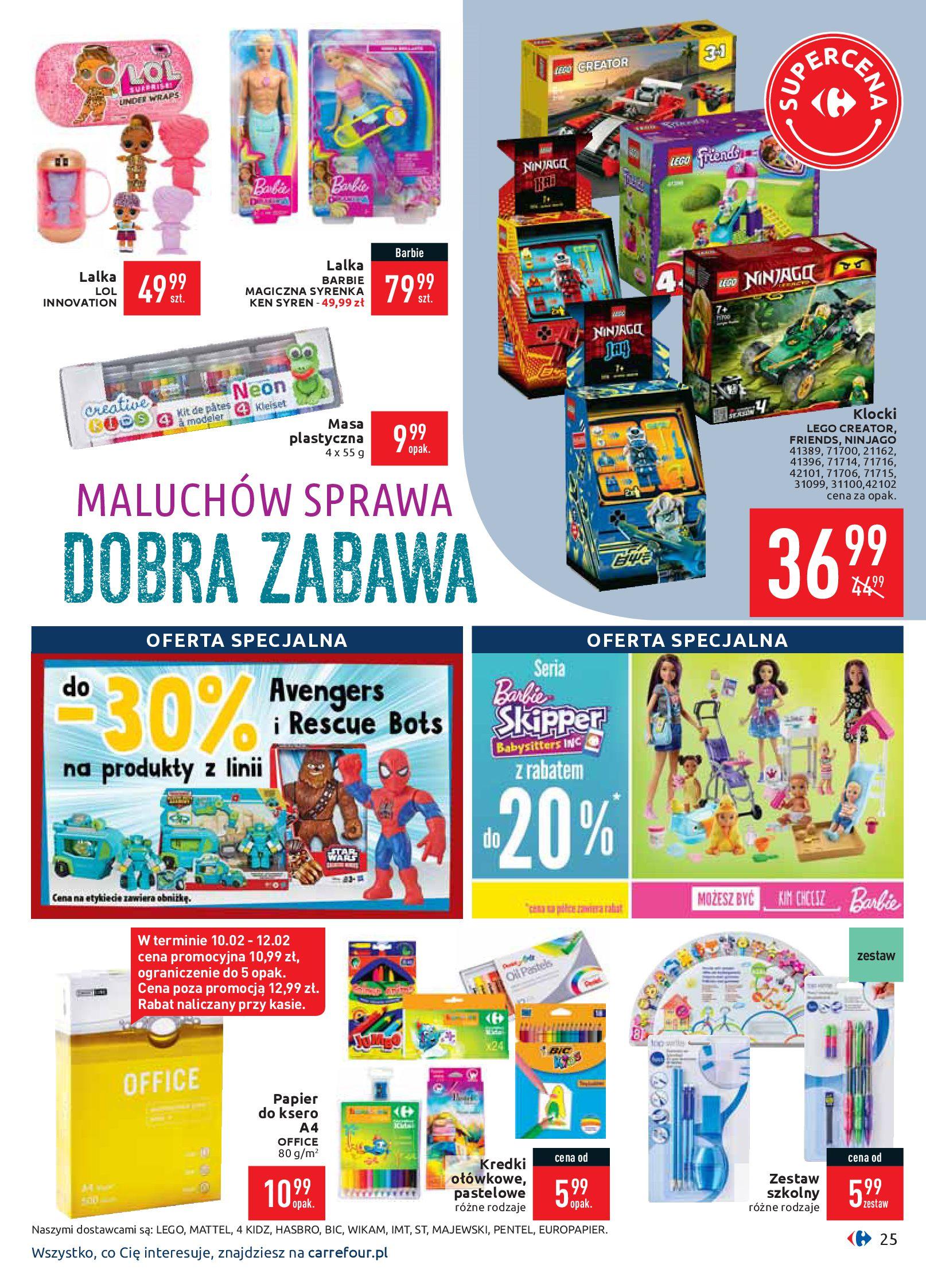 Gazetka Carrefour - Gazetka promocyjna-10.02.2020-17.02.2020-page-25