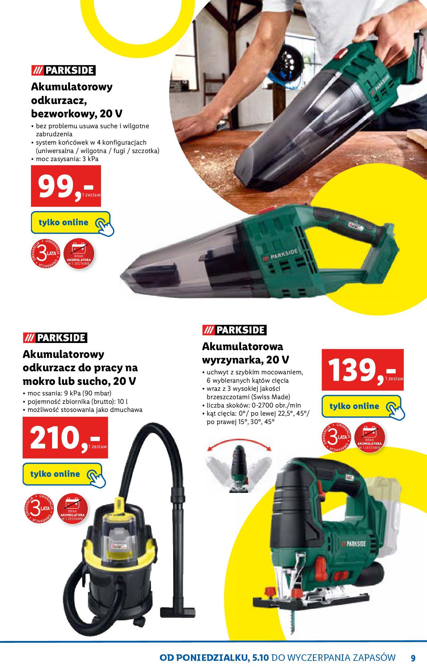 Gazetka Lidl - Katalog sklepu ONLINE-04.10.2020-31.10.2020-page-9