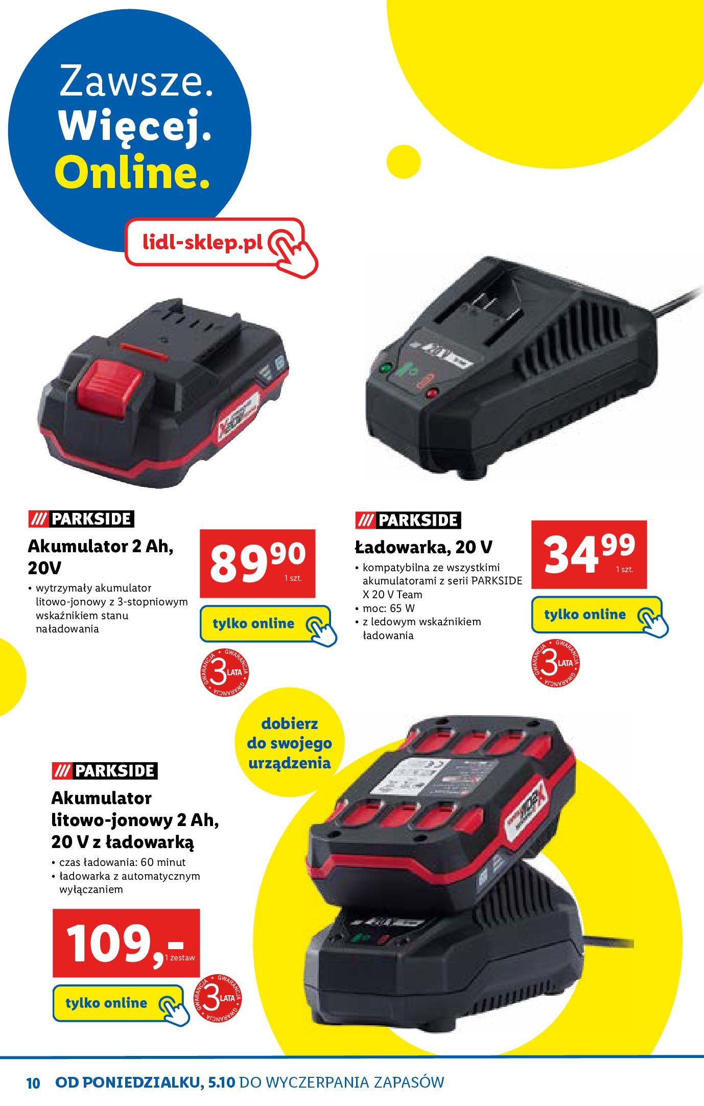 Gazetka Lidl - Katalog sklepu ONLINE-04.10.2020-31.10.2020-page-10