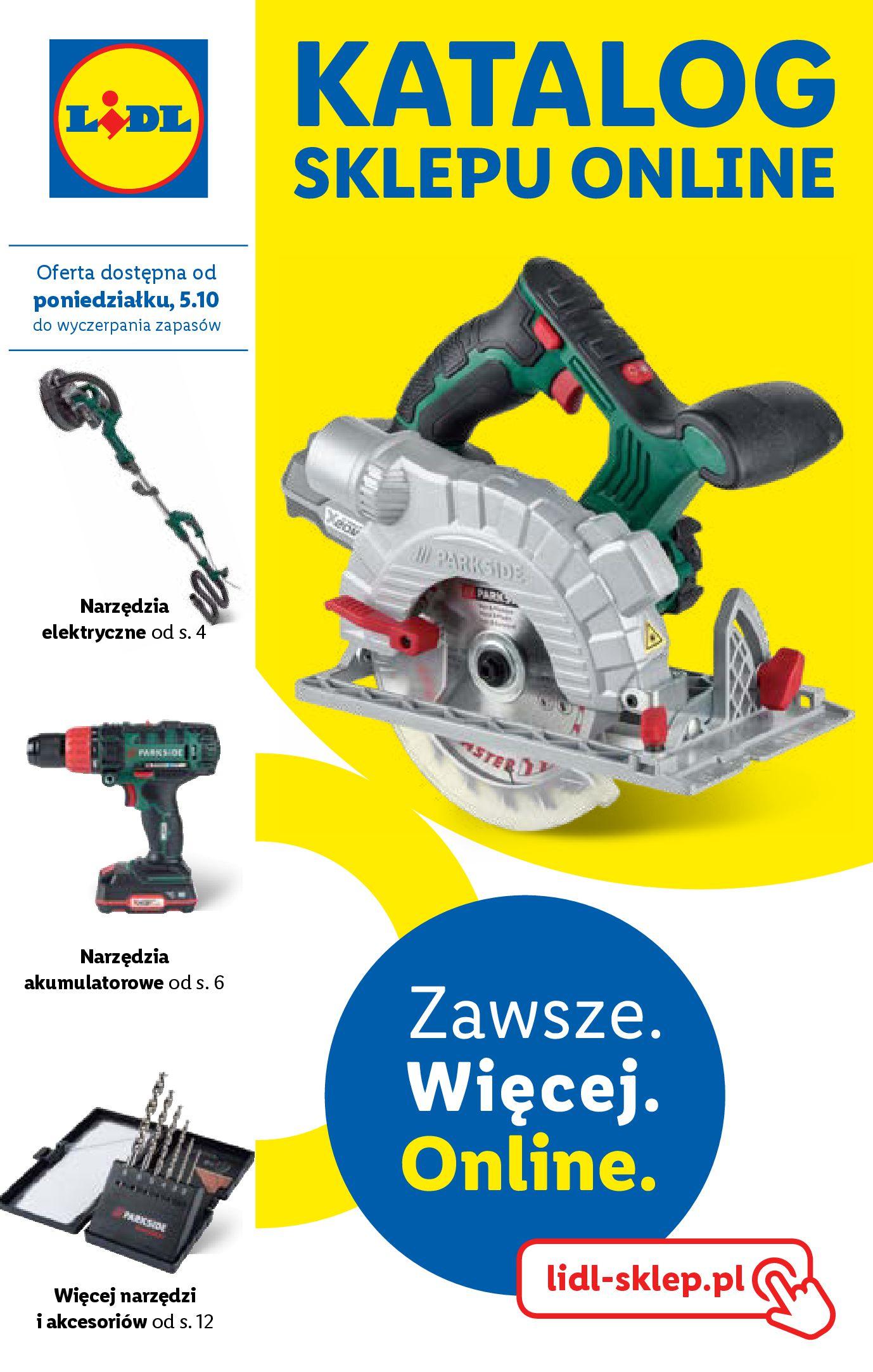 Gazetka Lidl - Katalog sklepu ONLINE-04.10.2020-31.10.2020-page-1