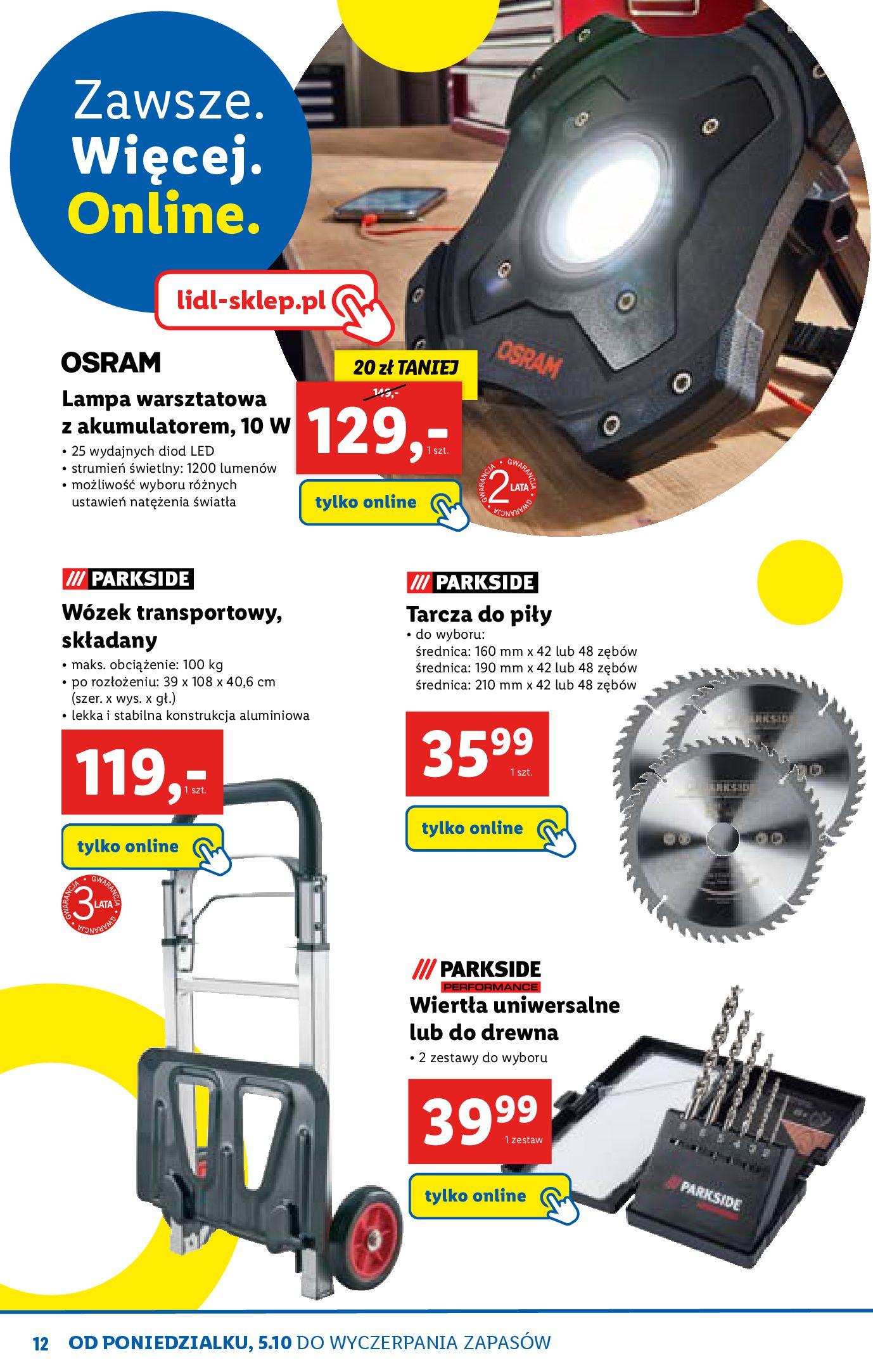 Gazetka Lidl - Katalog sklepu ONLINE-04.10.2020-31.10.2020-page-12